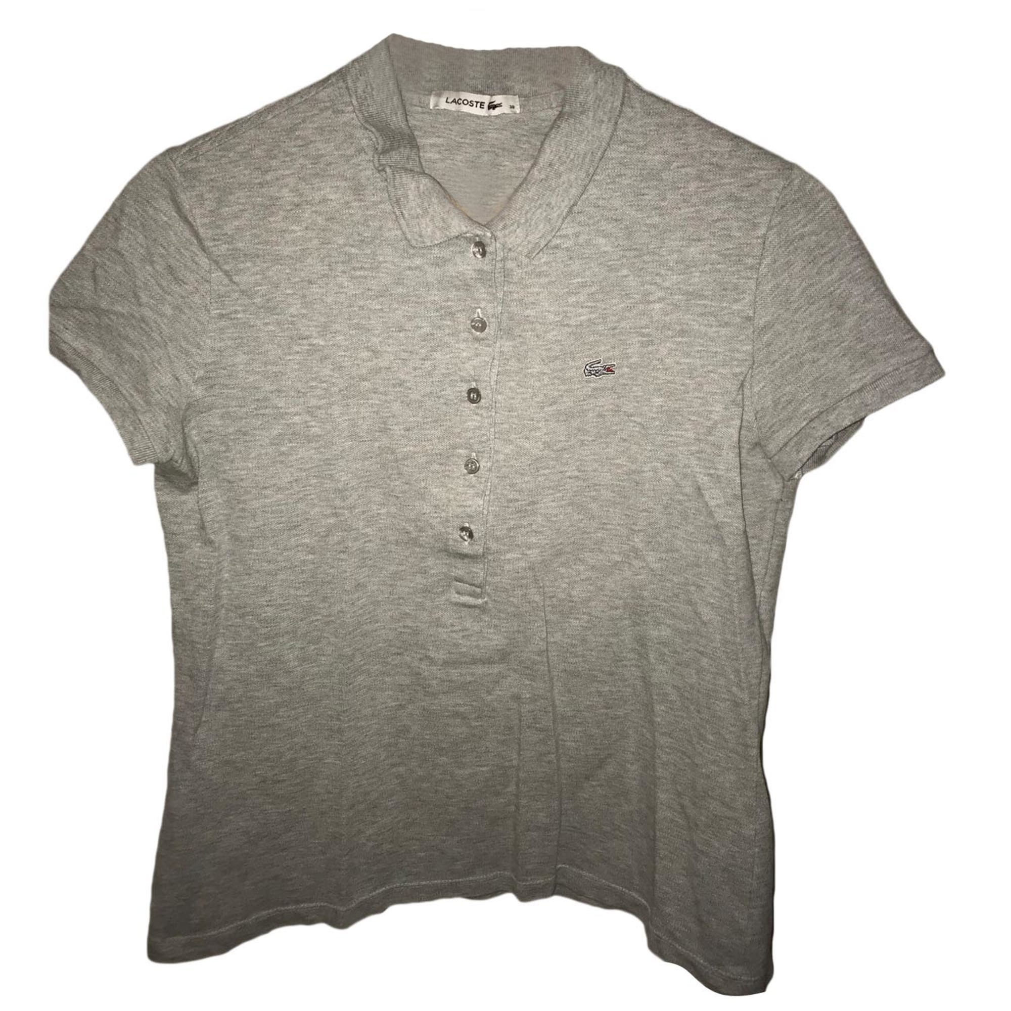 Polo LACOSTE Gris, anthracite 559870067cb3