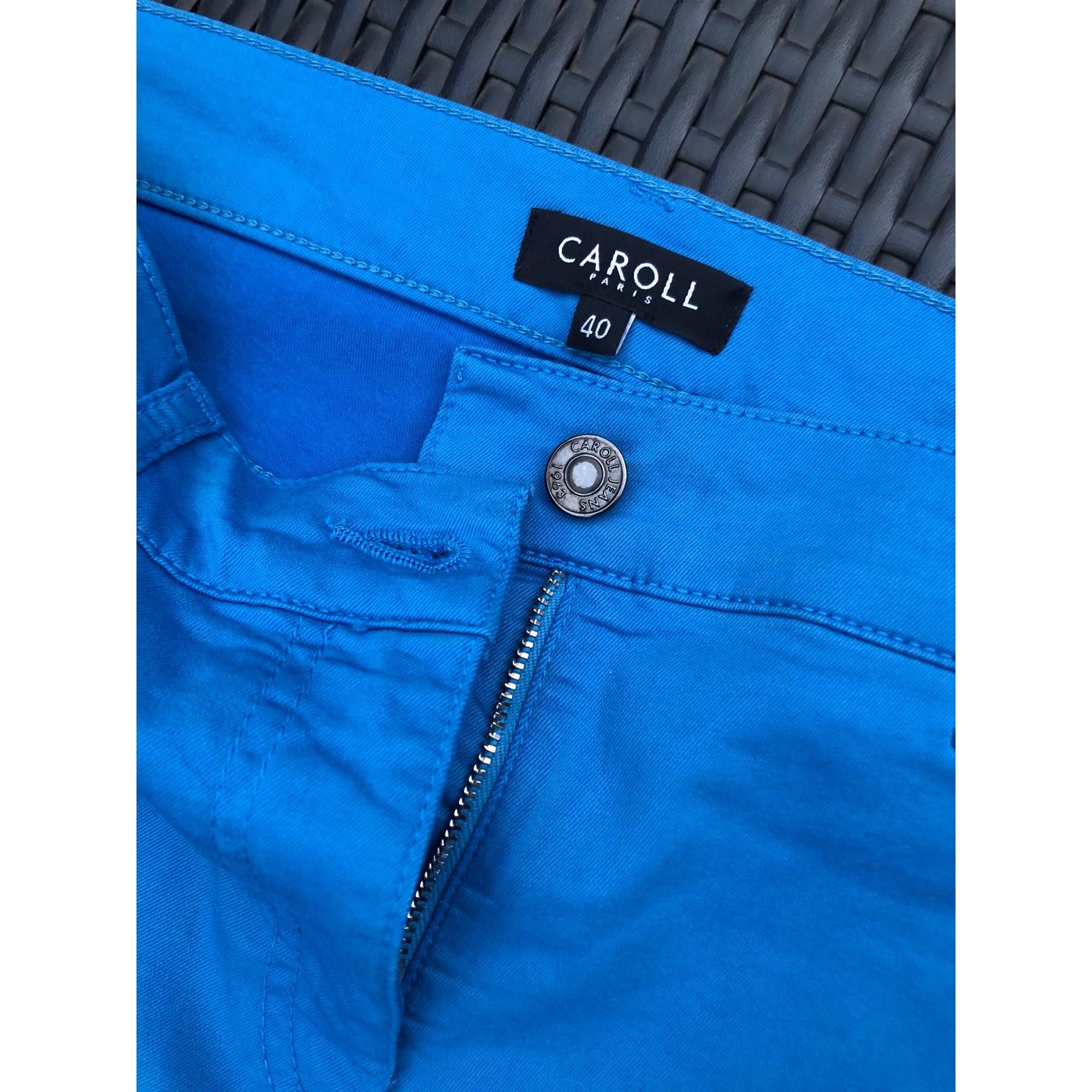 25169e545ea Pantalon droit CAROLL 40 (L