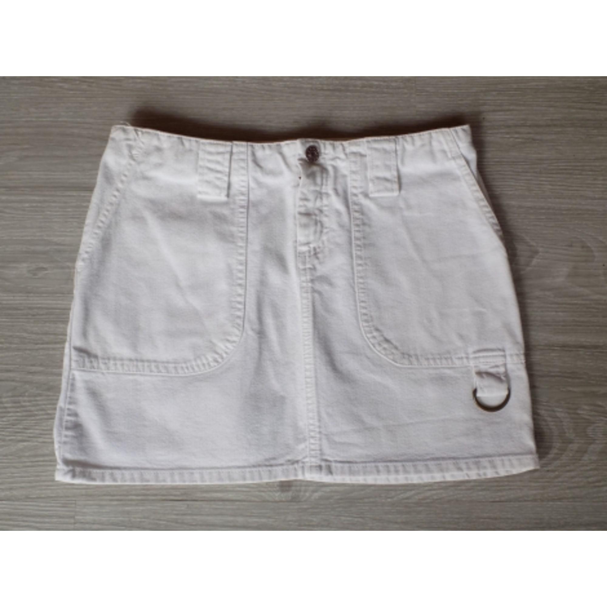 jupe maje blanche jean