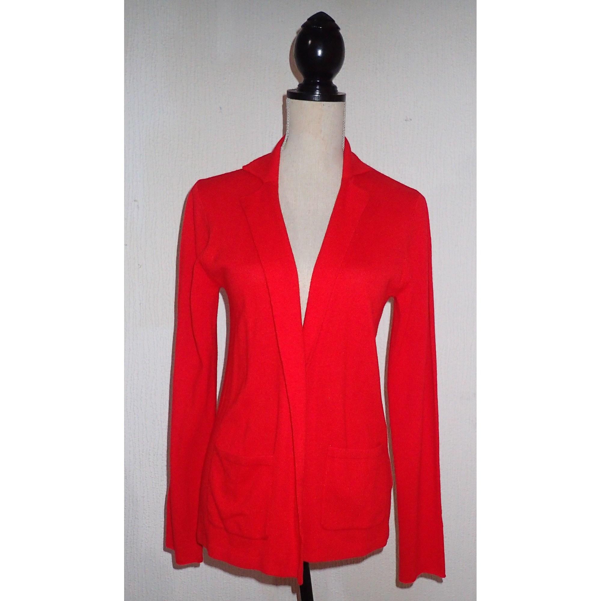 CACHEMIRE cardigan bordeaux Gilet 100 Rouge fRHx1q