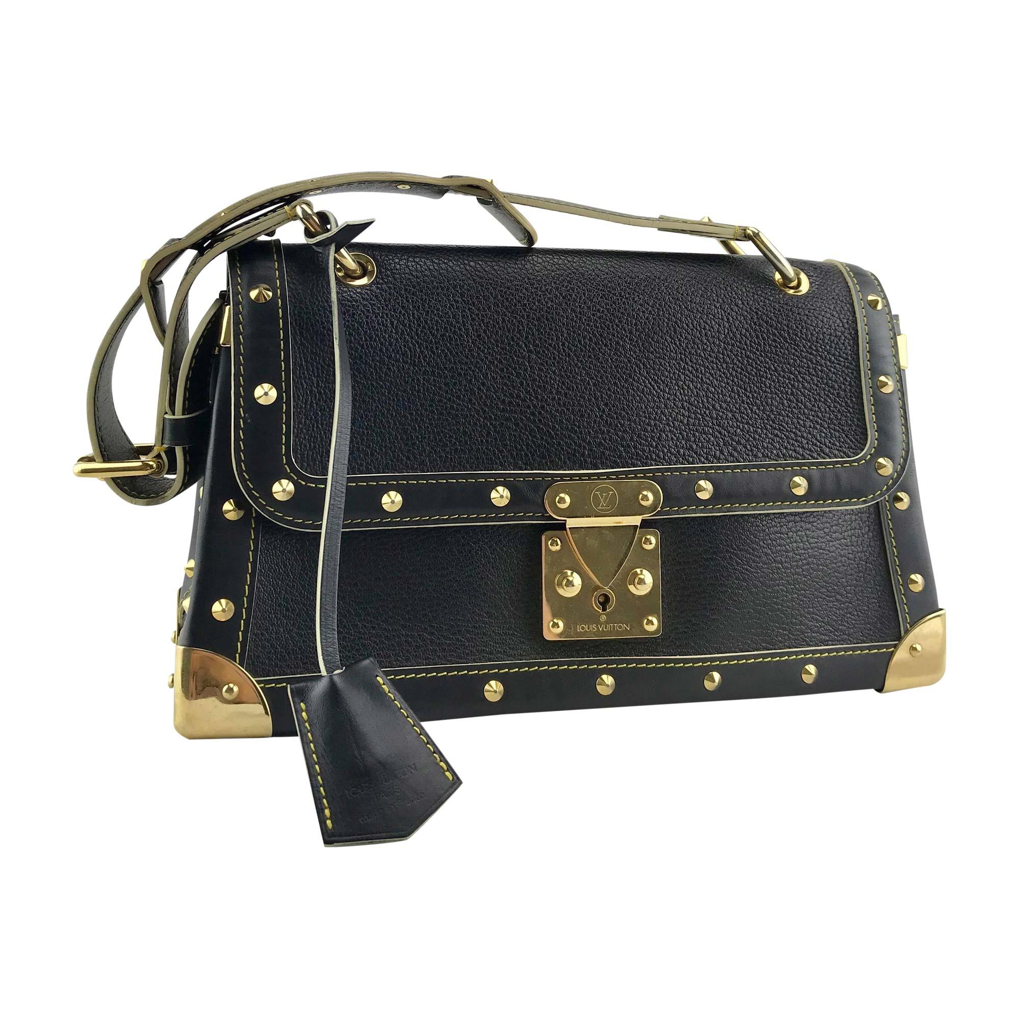 a8c3f56d0d38 Sac en bandoulière en cuir LOUIS VUITTON noir vendu par The brand ...