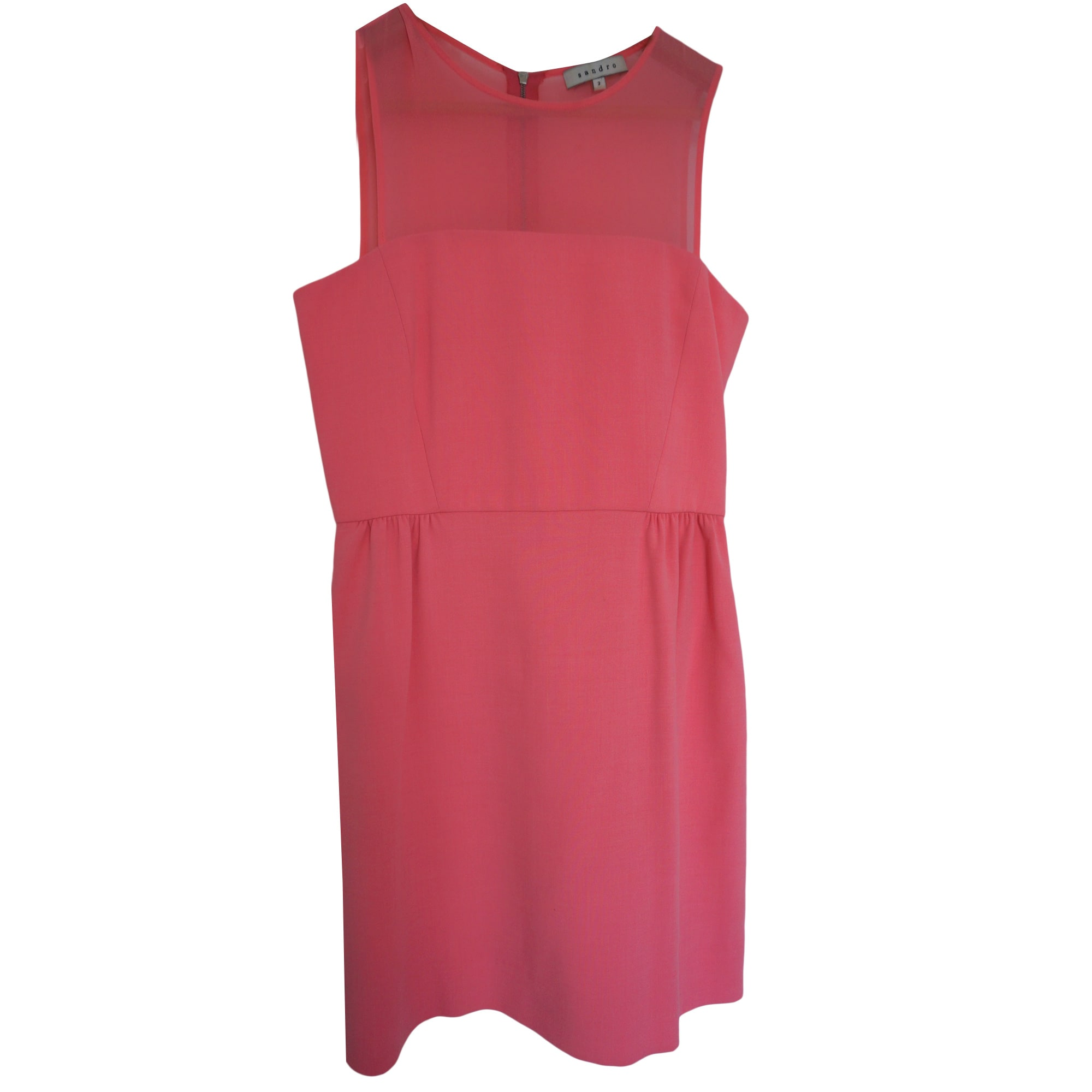 Mini Dress SANDRO Pink, fuchsia, light pink