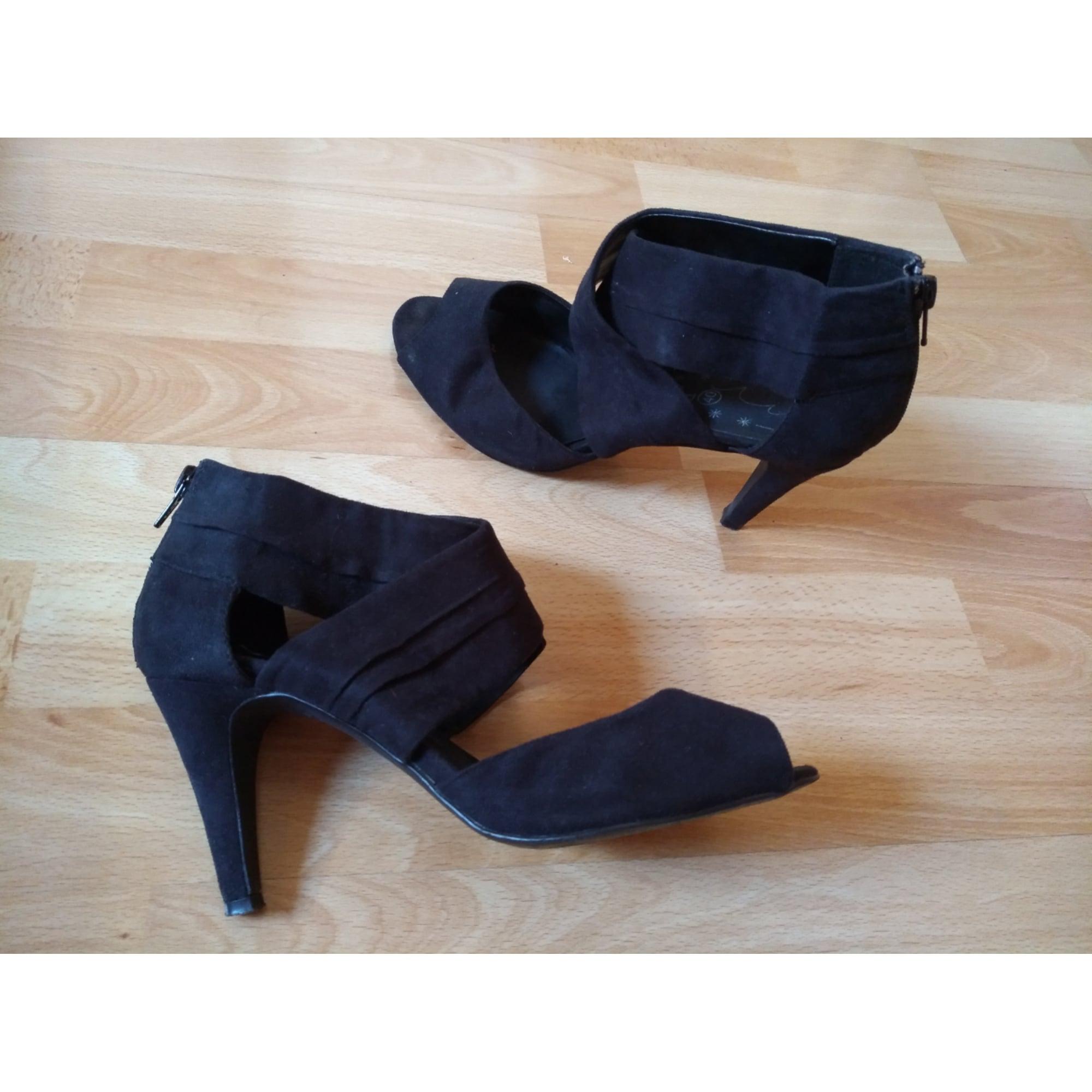ee0357f3170c1b Heeled Sandals PROMOD 40 black - 7577692