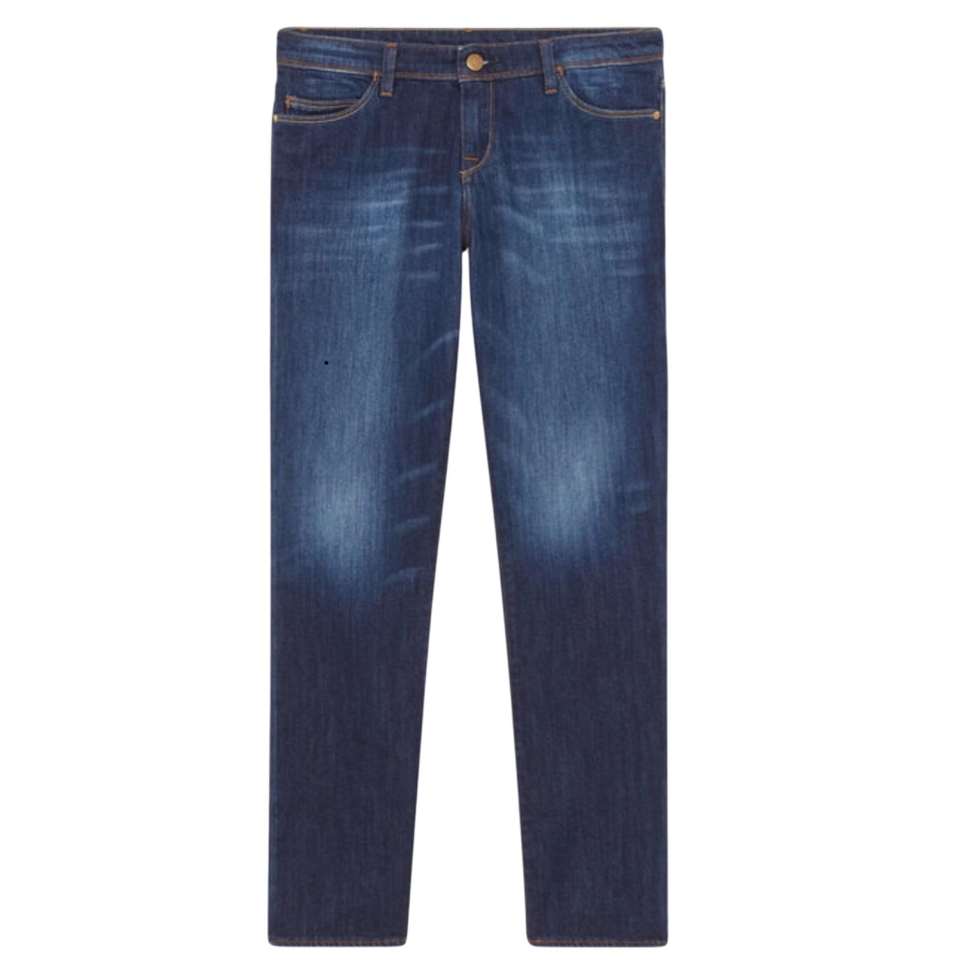 abe4254f Jeans slim BA&SH Bleu, bleu marine, bleu turquoise