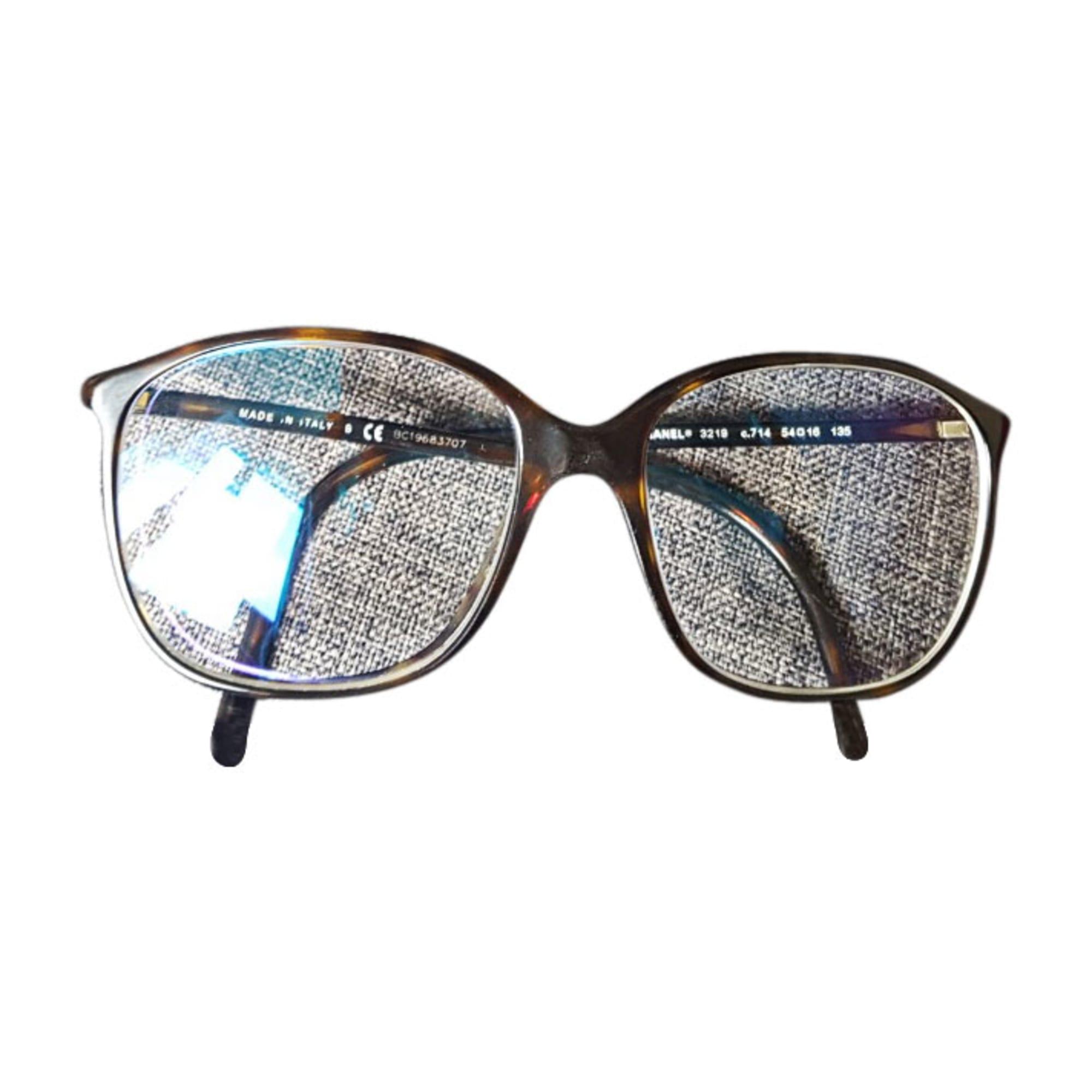17ac8c8dd2d Monture de lunettes CHANEL marron - 7603270