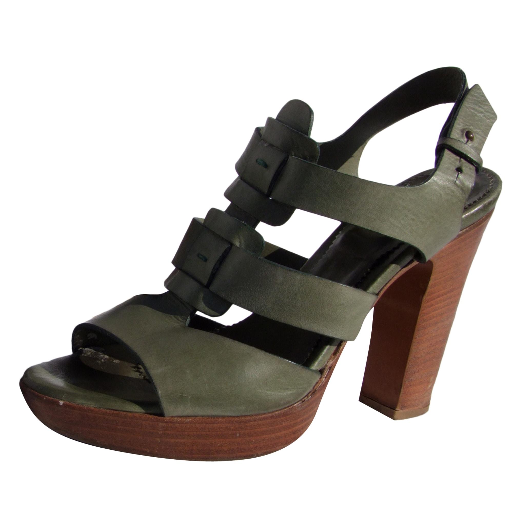 Heeled Sandals SARTORE Green