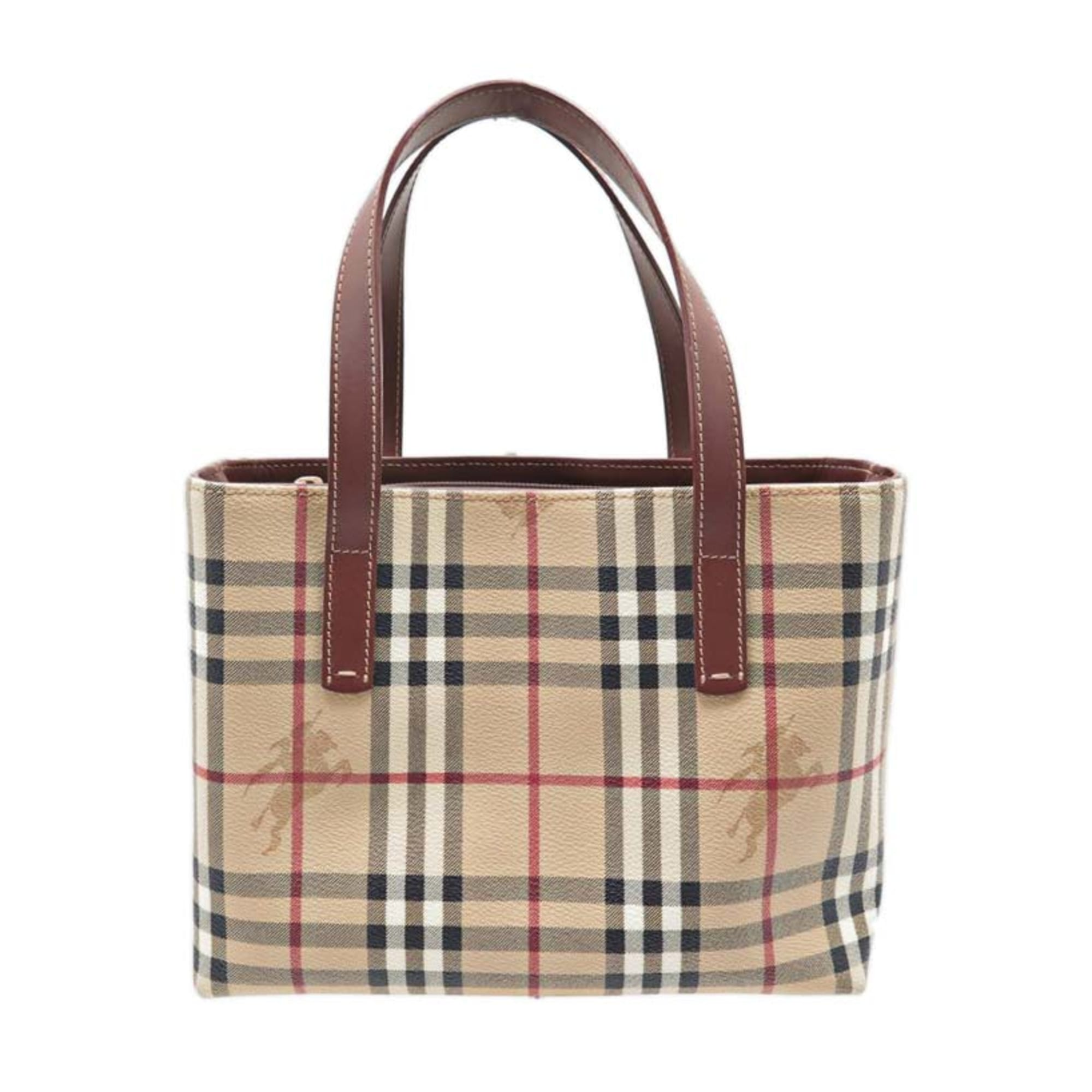 77158d7b57 Sac à main en cuir BURBERRY beige vendu par Encherexpert - paris14 ...