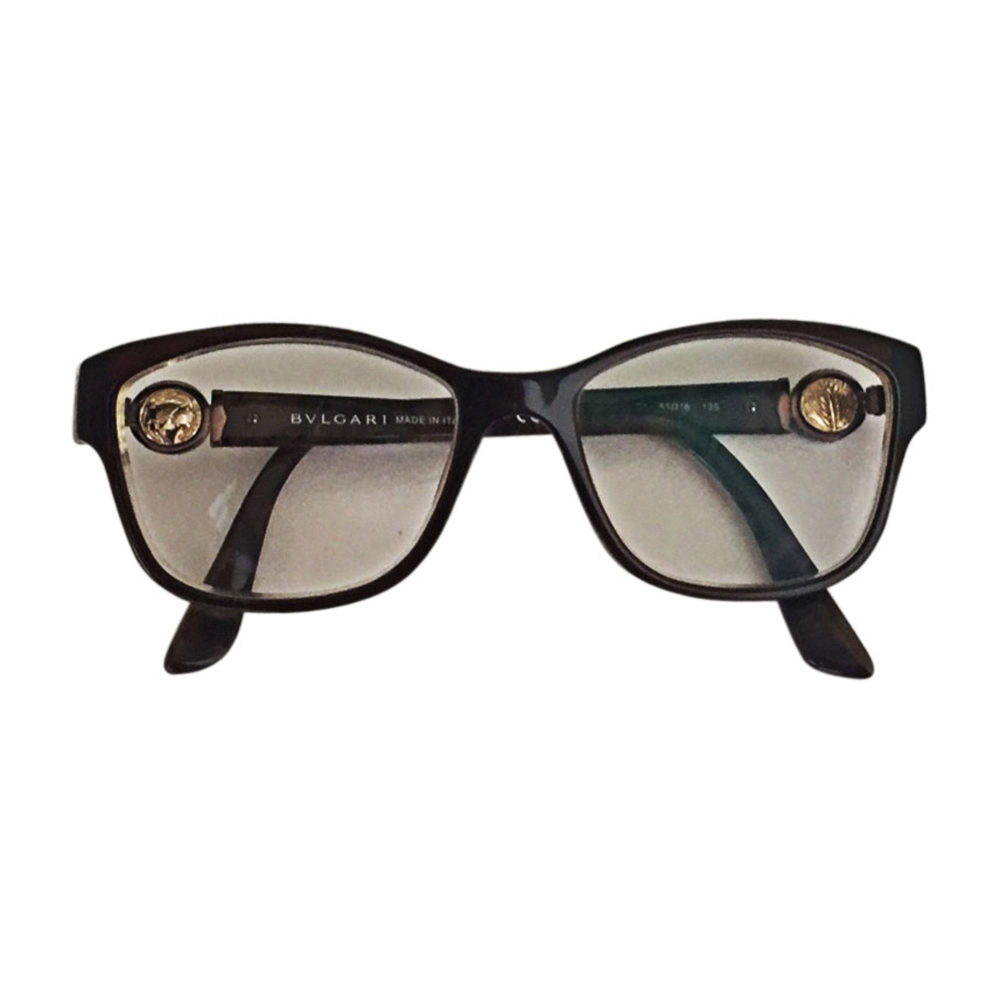 e7ab8b3216c Monture de lunettes BULGARI marron - 7607730