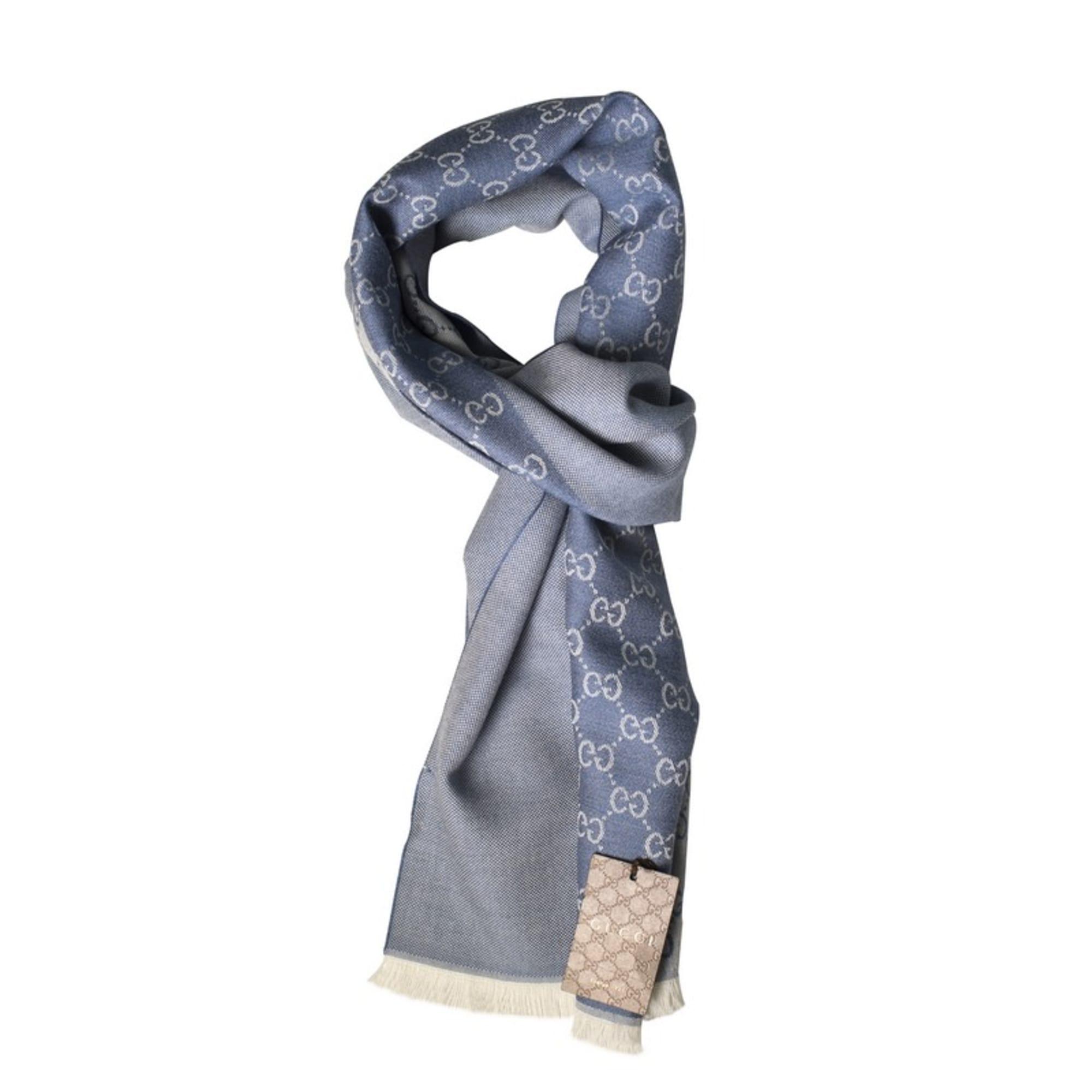Echarpe GUCCI bleu vendu par Dress-code 75 - 7608502 1c44cf04b4e