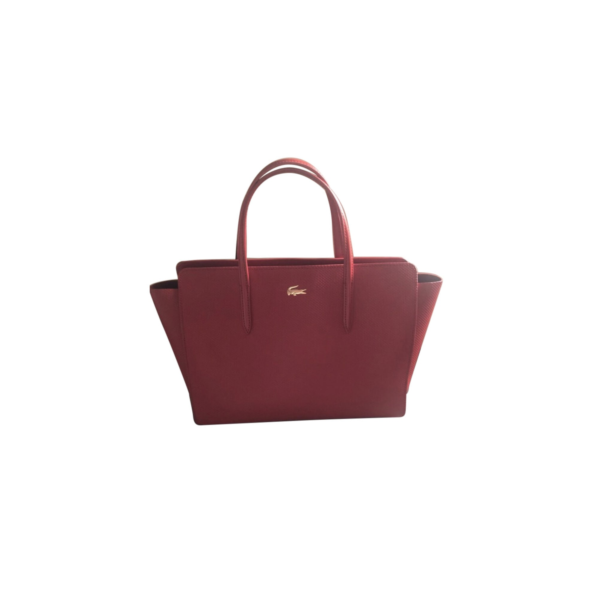 76f08d164e Sac à main en cuir LACOSTE rouge vendu par Miss_so31476 - 7609282