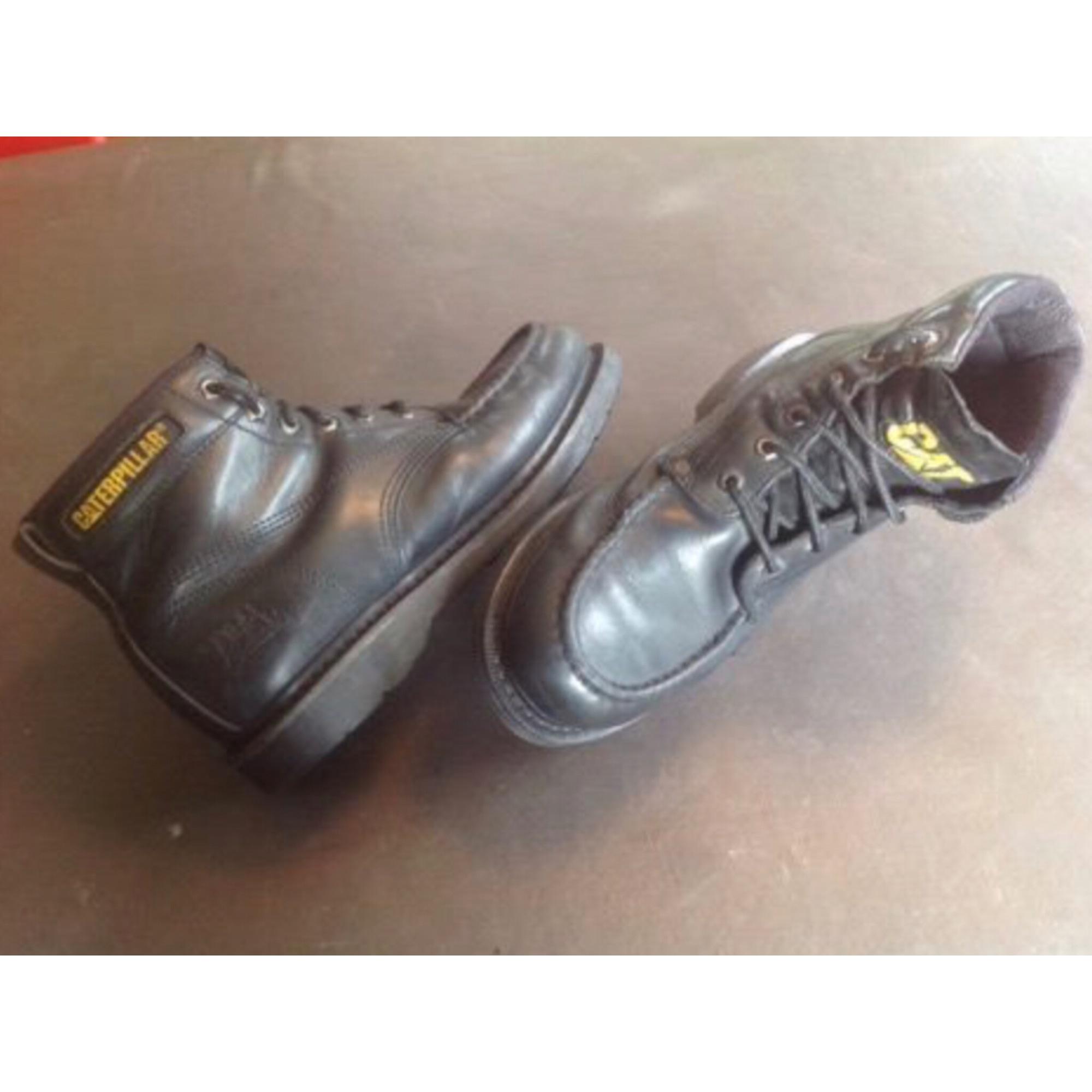 1a444a38e185f7 Chaussures à lacets CATERPILLAR 43 noir - 7629507
