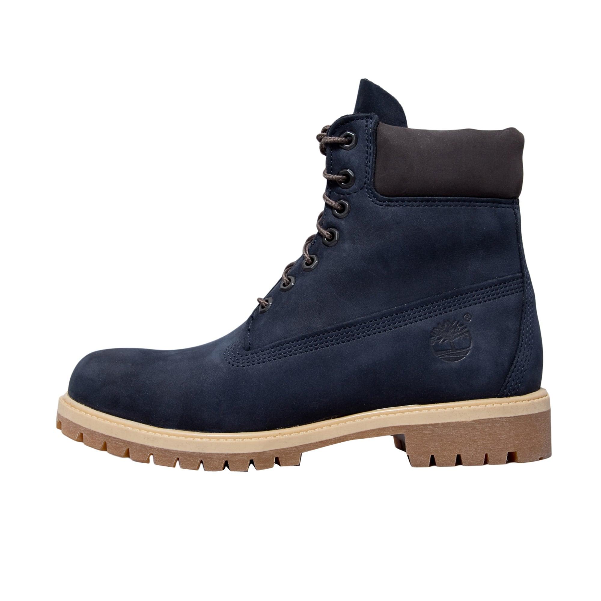 bottes timberland bleu