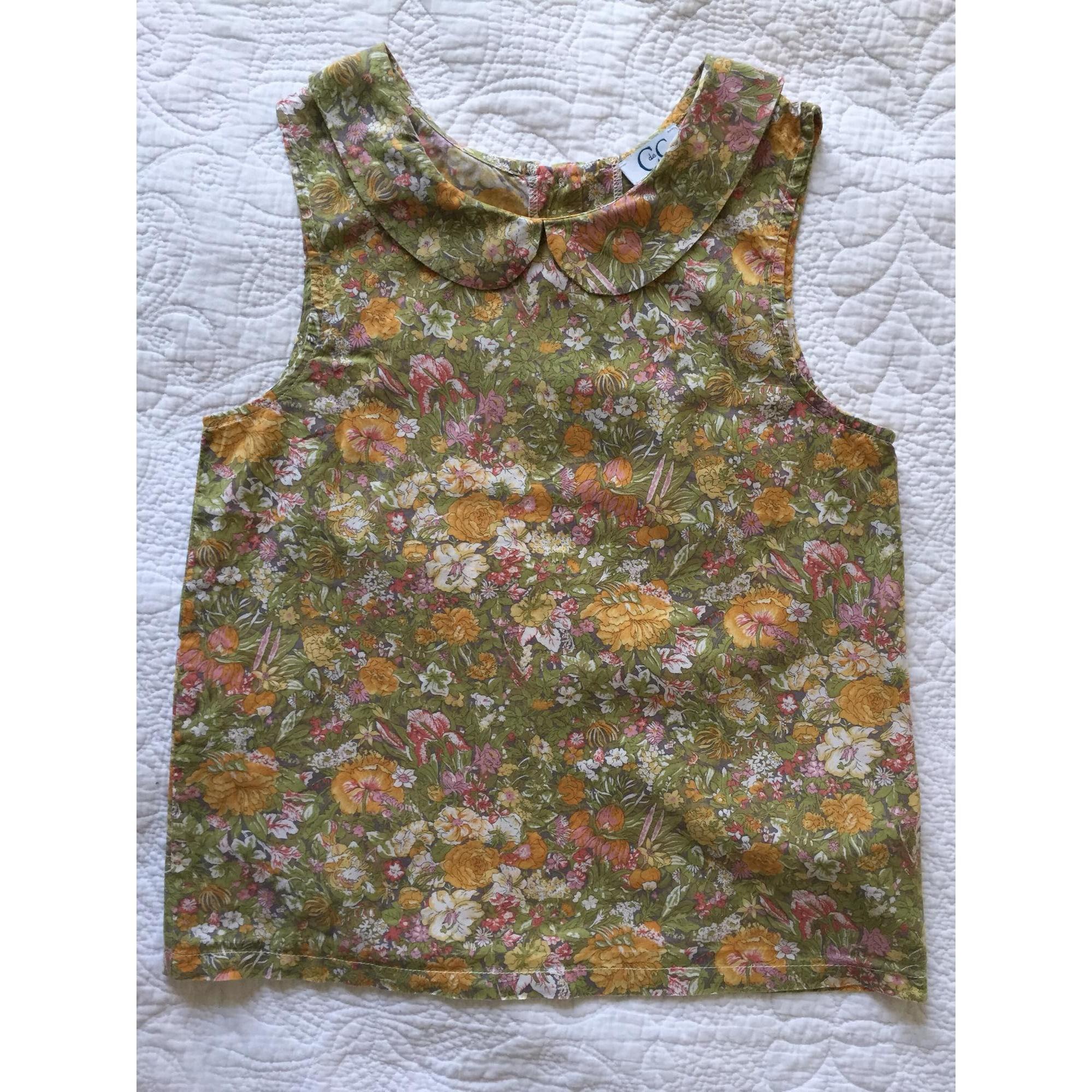 Blouse C DE C BY CORDELIA DE CASTELLANE coton multicolore 11-12 ans