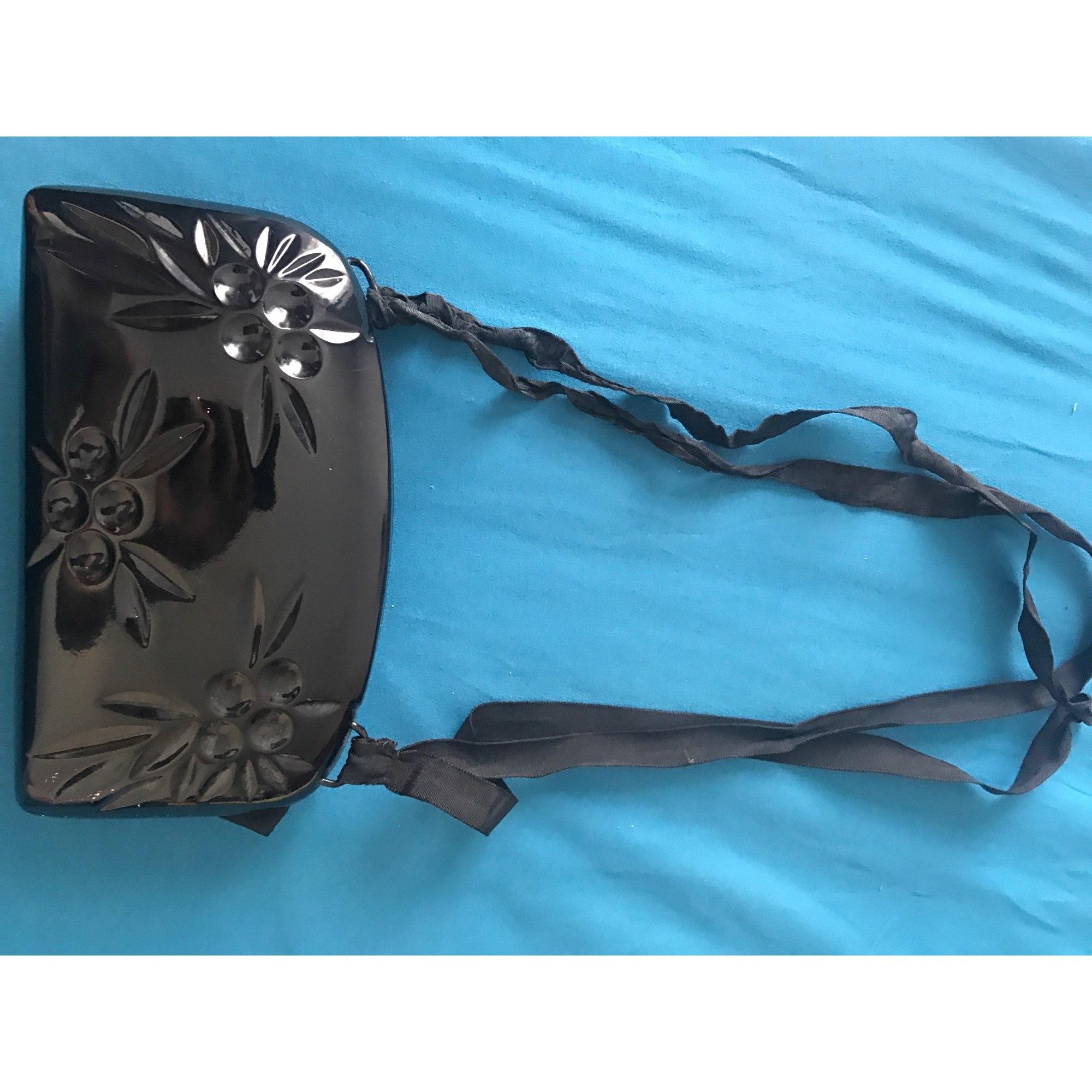 Pochette KENZO plastique noir