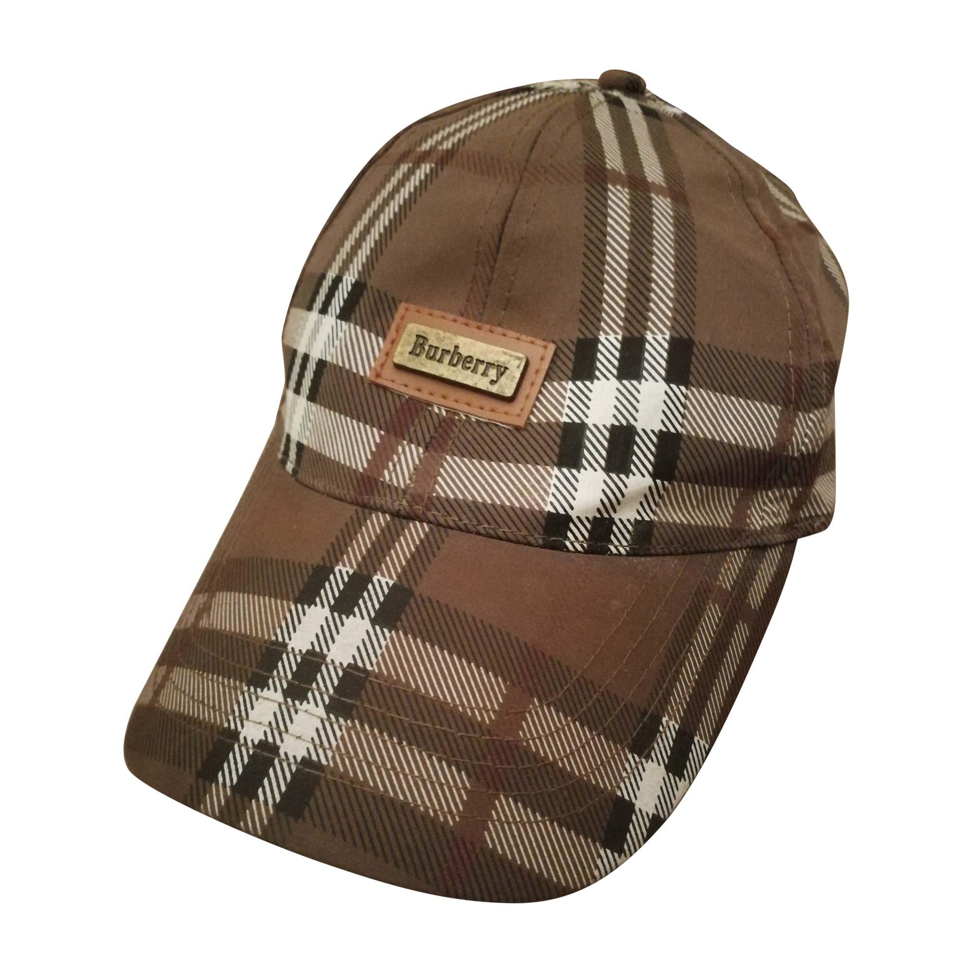 Casquette BURBERRY Taille unique marron vendu par Jeremsworldtour ... 0b862382d32