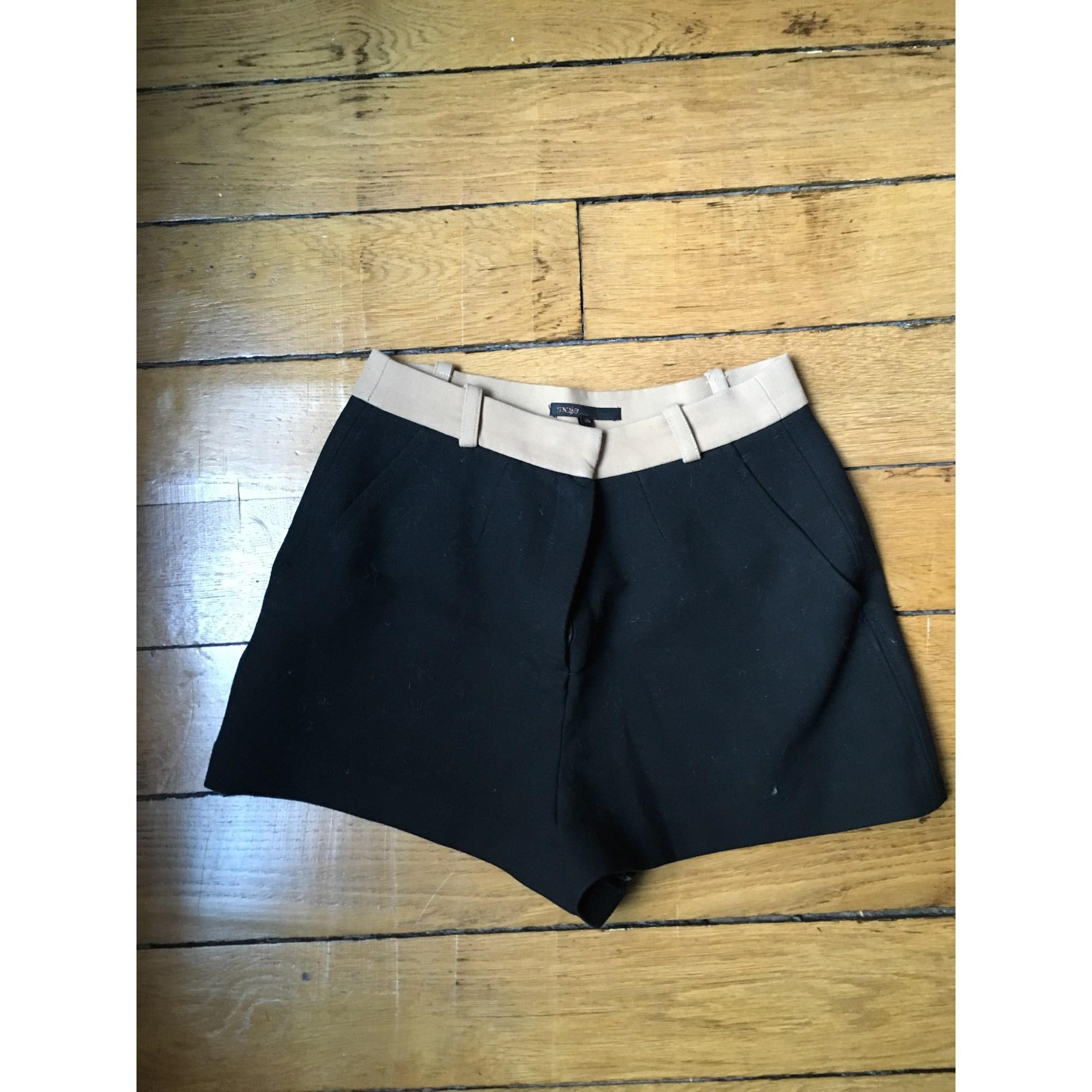 Maje Short polyester autre 38 (M, T2)