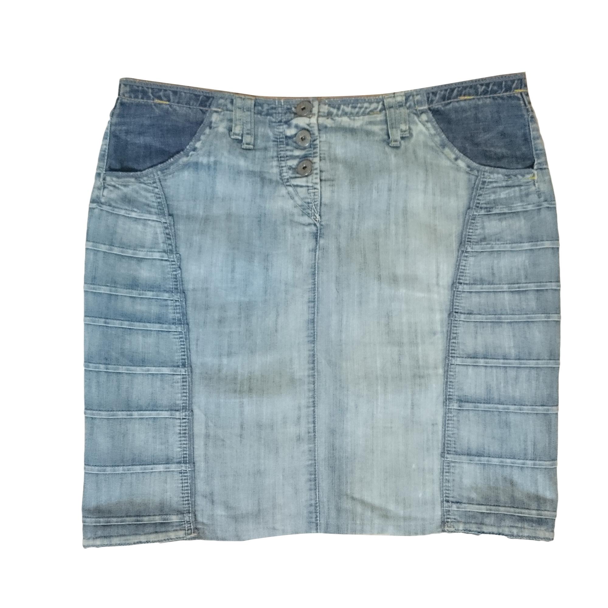 ec7a7127 Mini Skirt MARITHÉ ET FRANÇOIS GIRBAUD 42 (L/XL, T4) blue - 7644551
