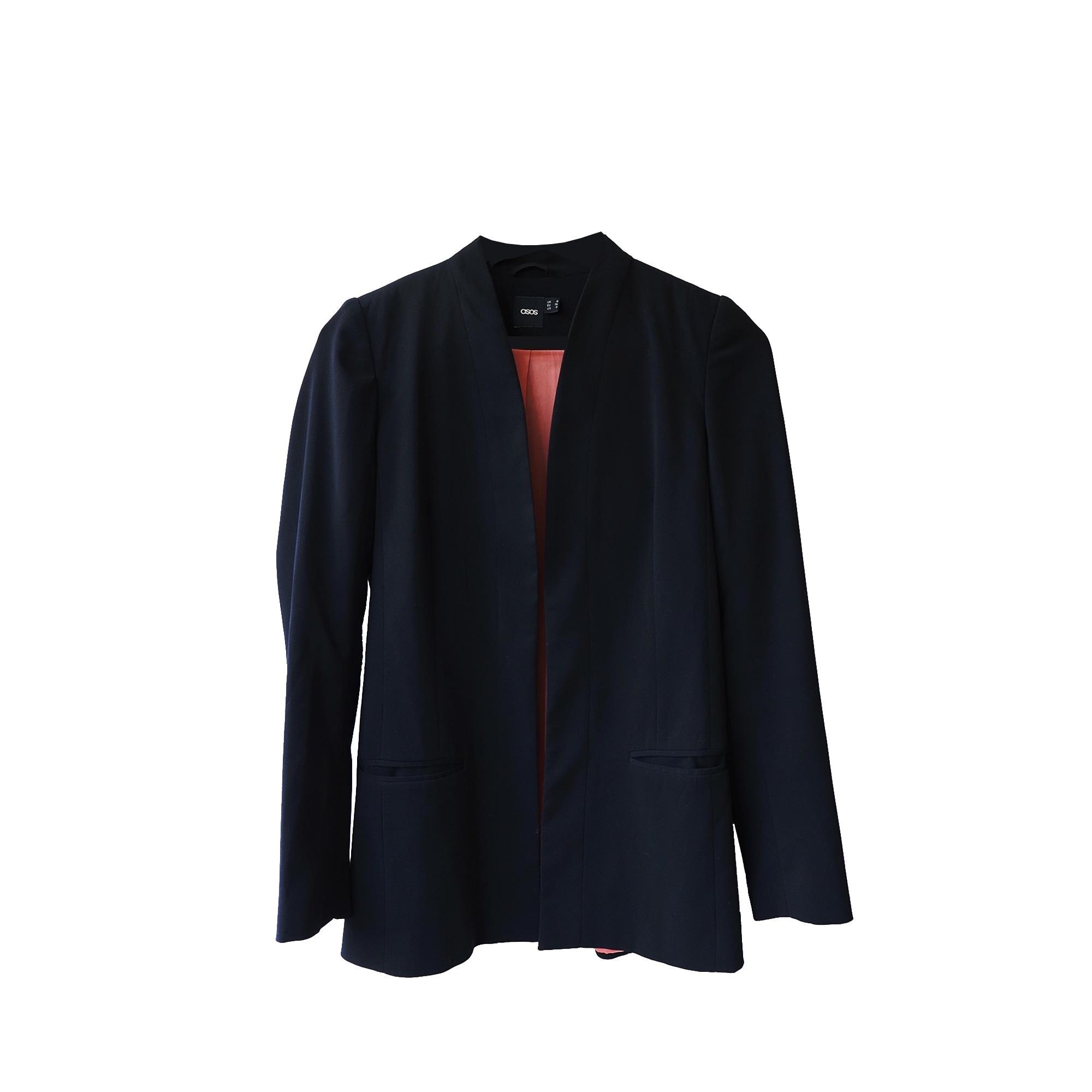 Blazer, veste tailleur ASOS Noir