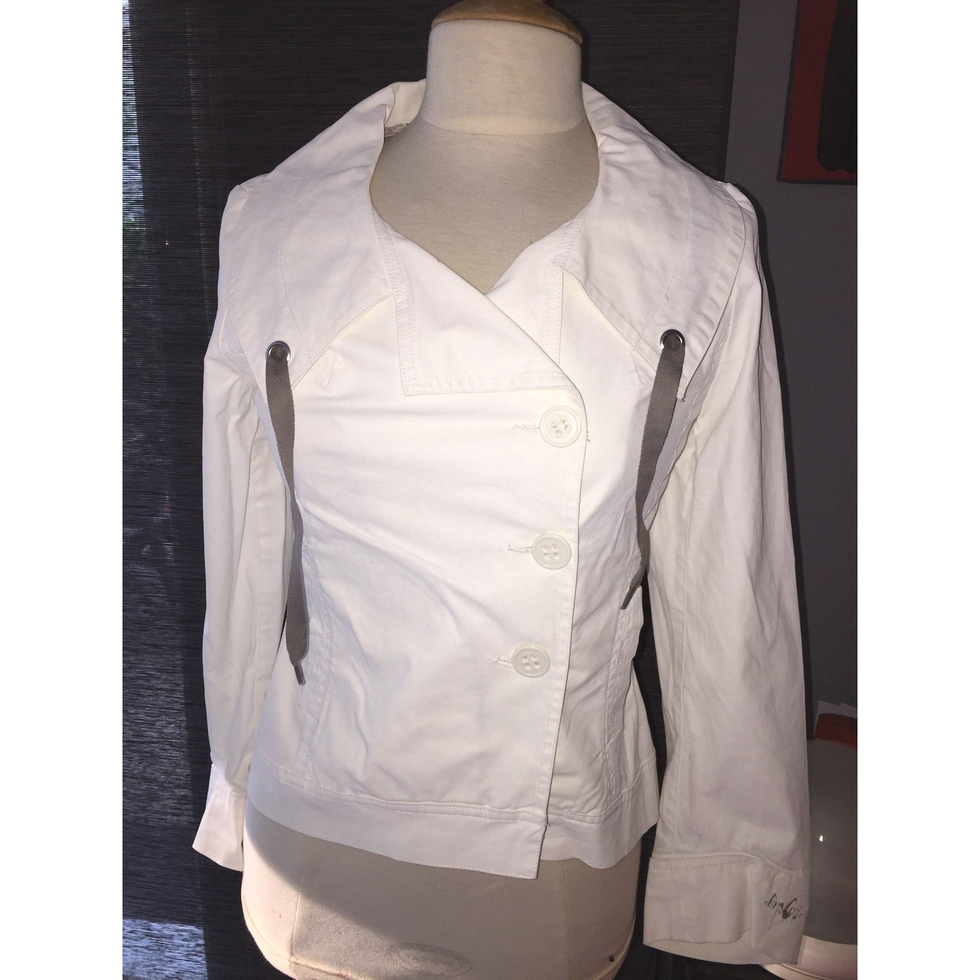 Paletot COP-COPINE Blanc, blanc cassé, écru