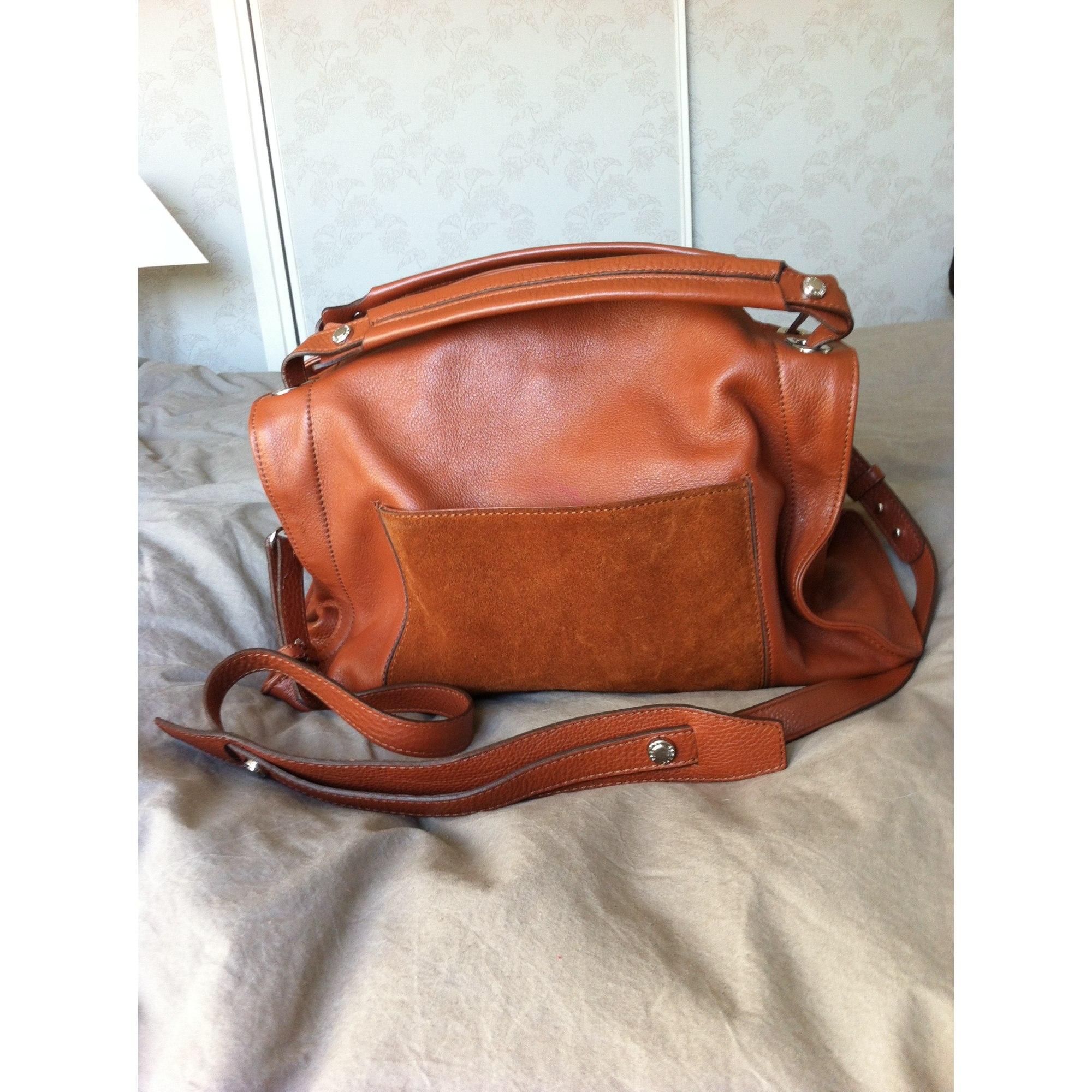 Sac en bandoulière en cuir SANDRO marron vendu par Loca chica - 7666506 f7bcb47dfff