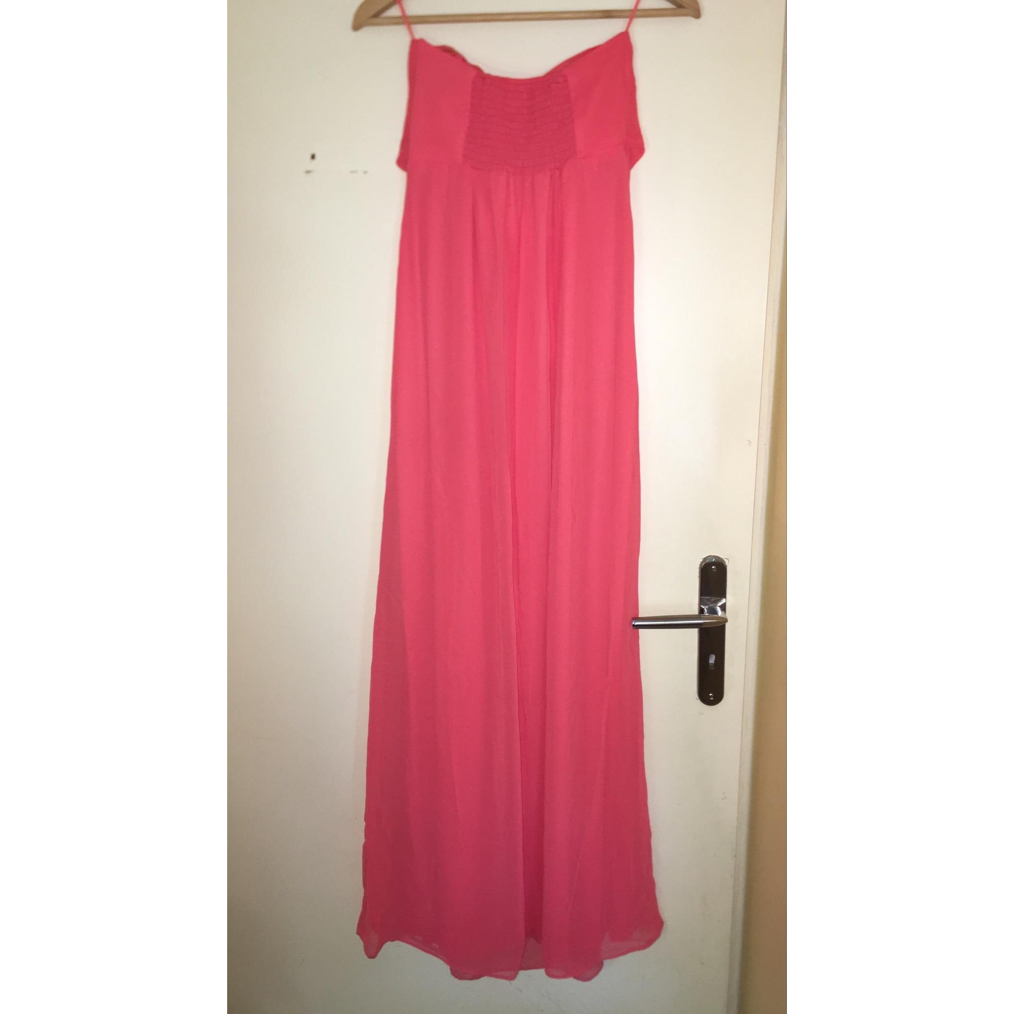 Robe Longue Asos 36 S T1 Rose 7682212