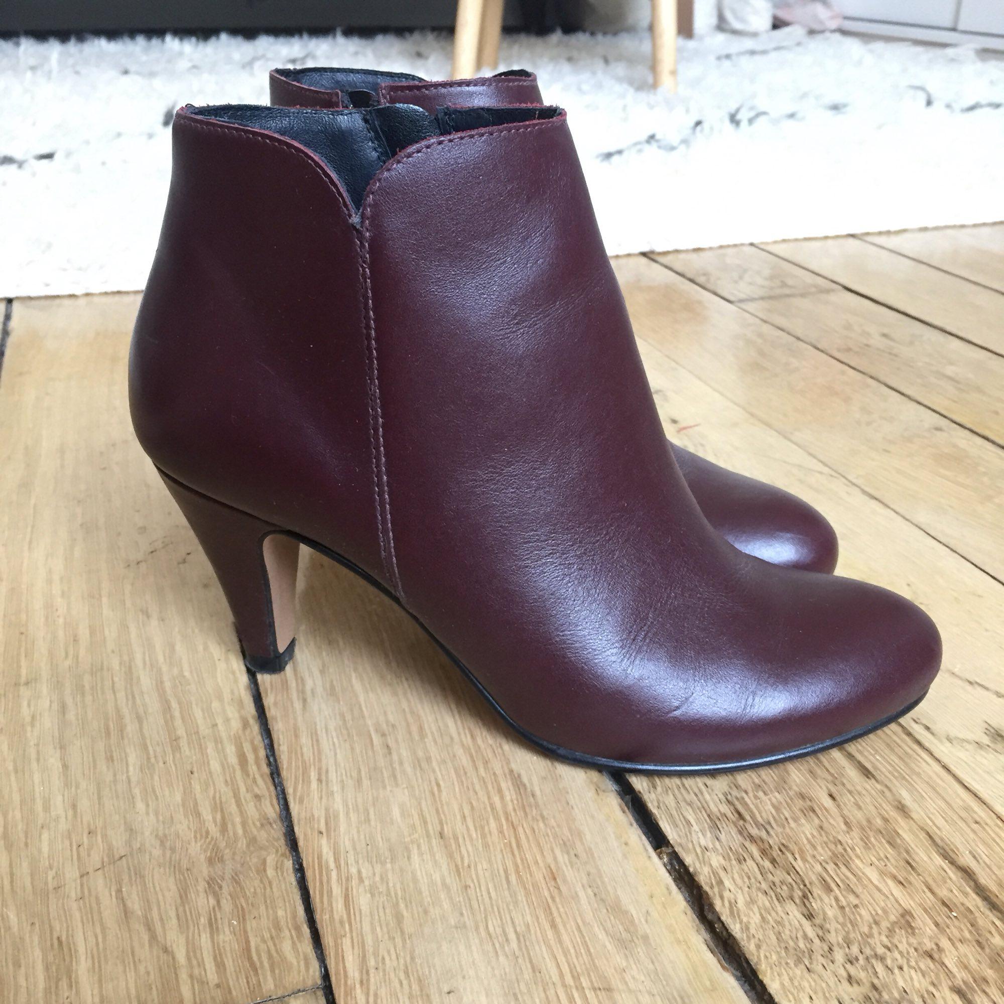 Bottines & low boots à talons ANDRé daim noir 39 62lbVJ7JP