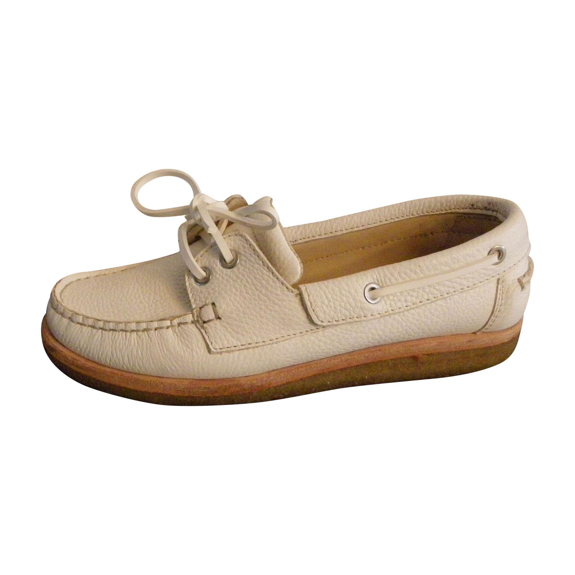 Chaussures à lacets  VANESSA BRUNO Blanc, blanc cassé, écru
