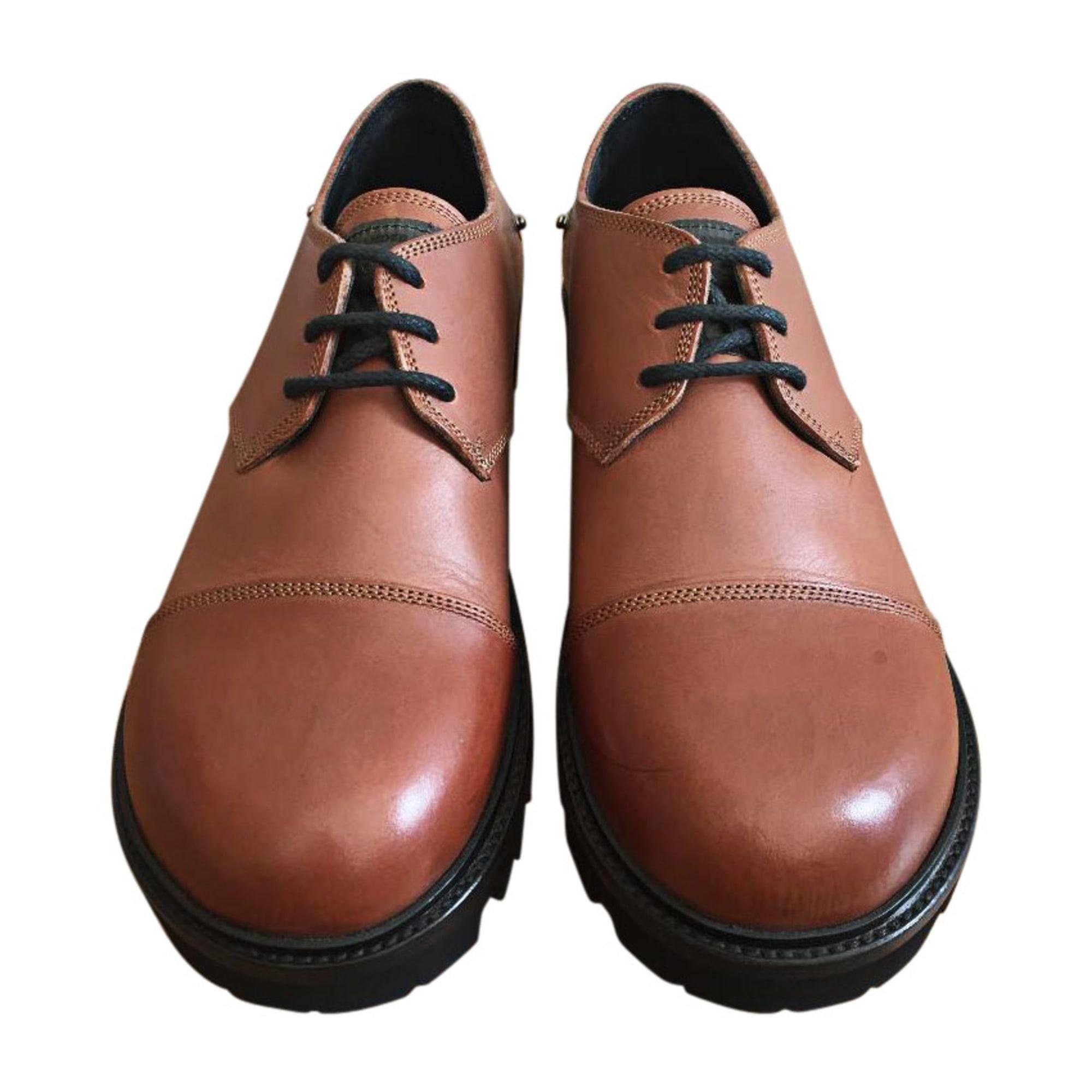 Lace Up Shoes JIL SANDER Beige, camel