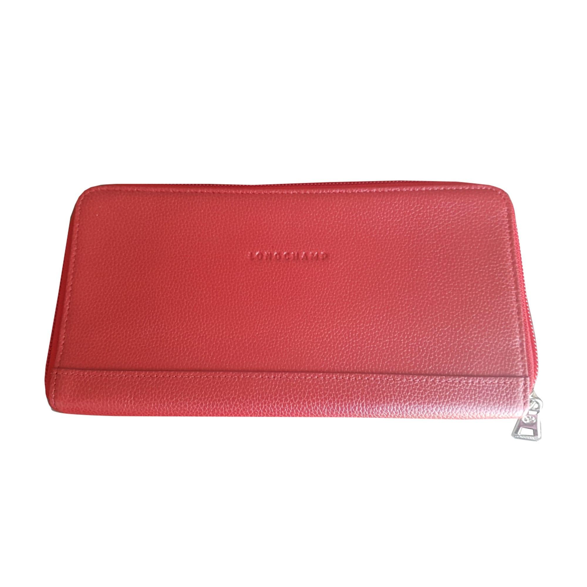 de57c0eb956e Portefeuille LONGCHAMP rouge vendu par Talou48548 - 7690802