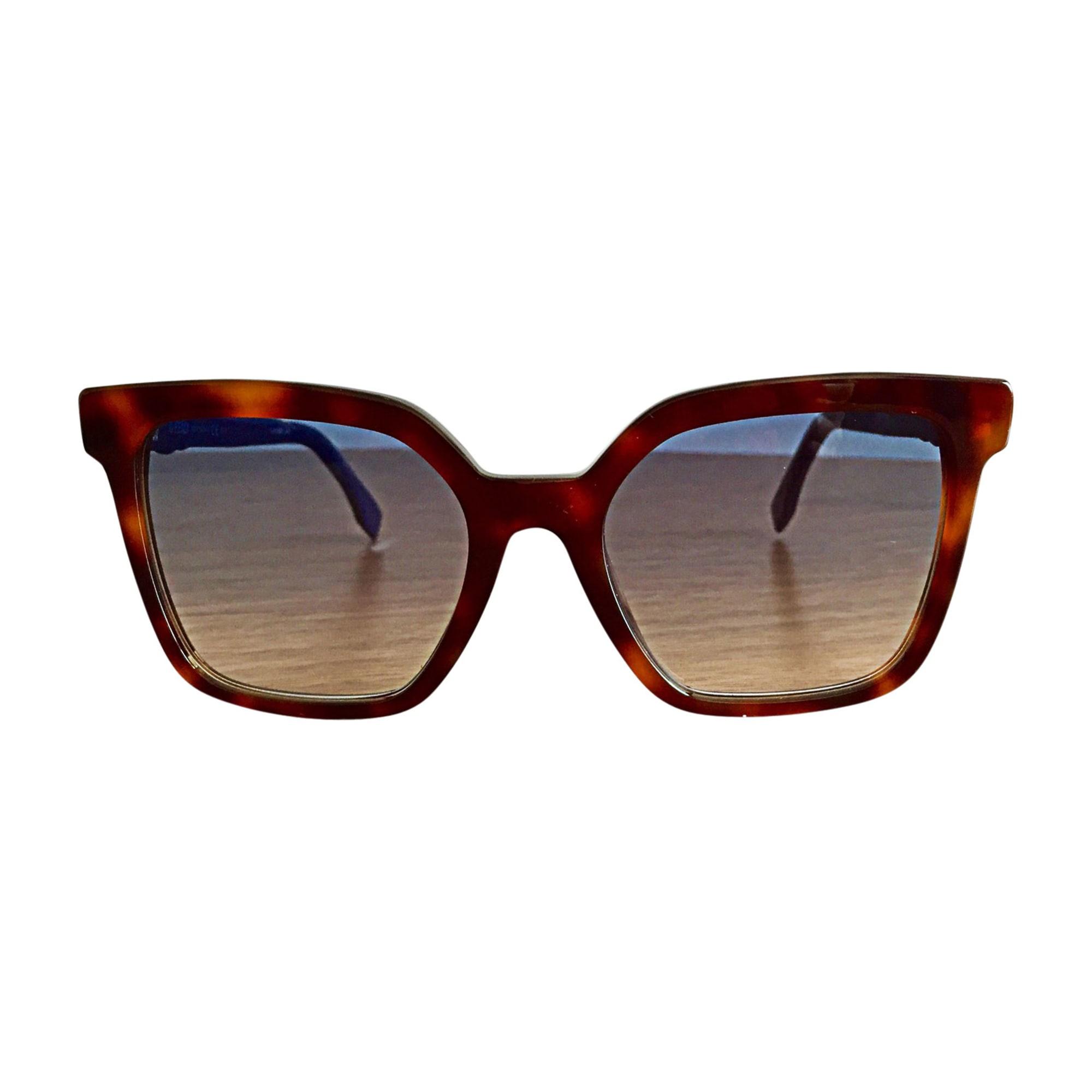 0a0c354adcd2c Lunettes de soleil FENDI marron - 7690991