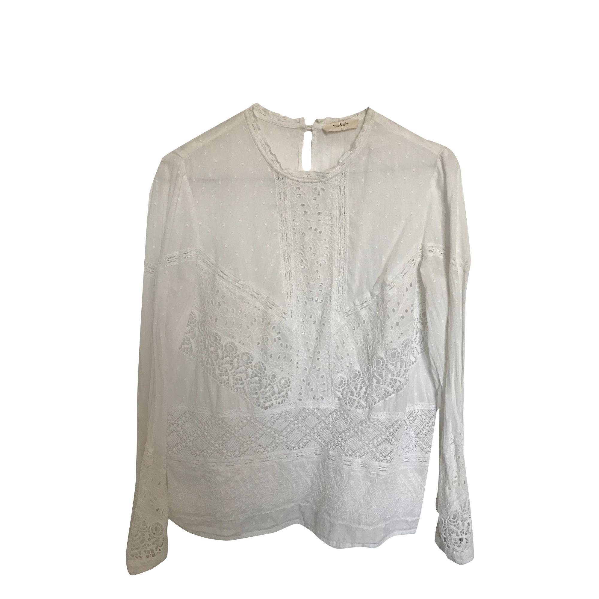 973efa5f64de3e Top, tee-shirt BA SH 36 (S, T1) blanc vendu par Claire 664566719 ...