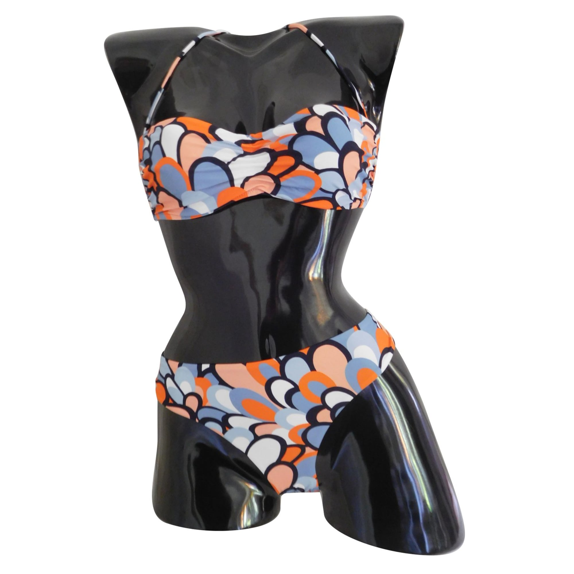 maillot de bain deux pi ces la perla 42 l xl t4 multicouleur 7694057. Black Bedroom Furniture Sets. Home Design Ideas
