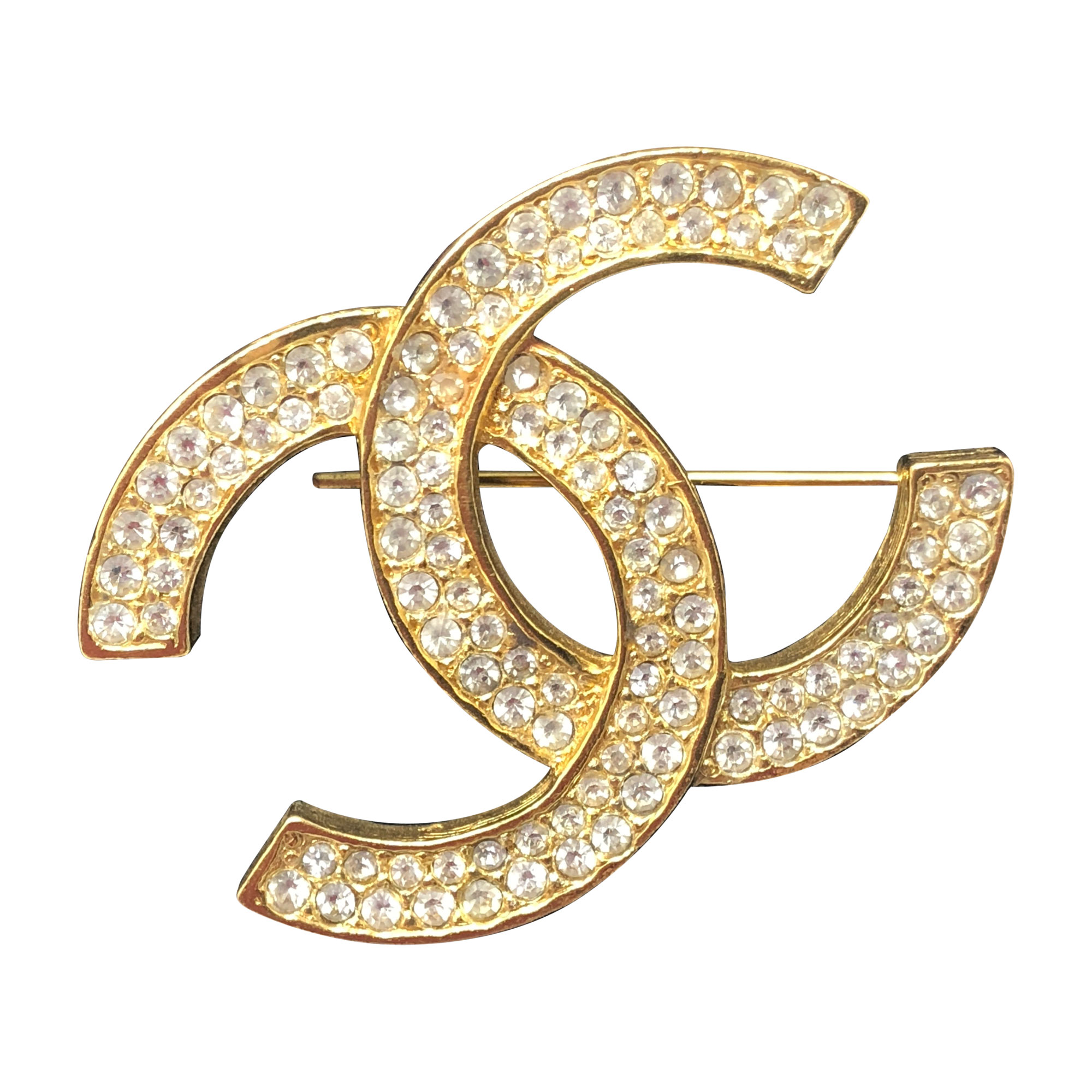 f14c0571319 Broche CHANEL j12 doré - 7694572