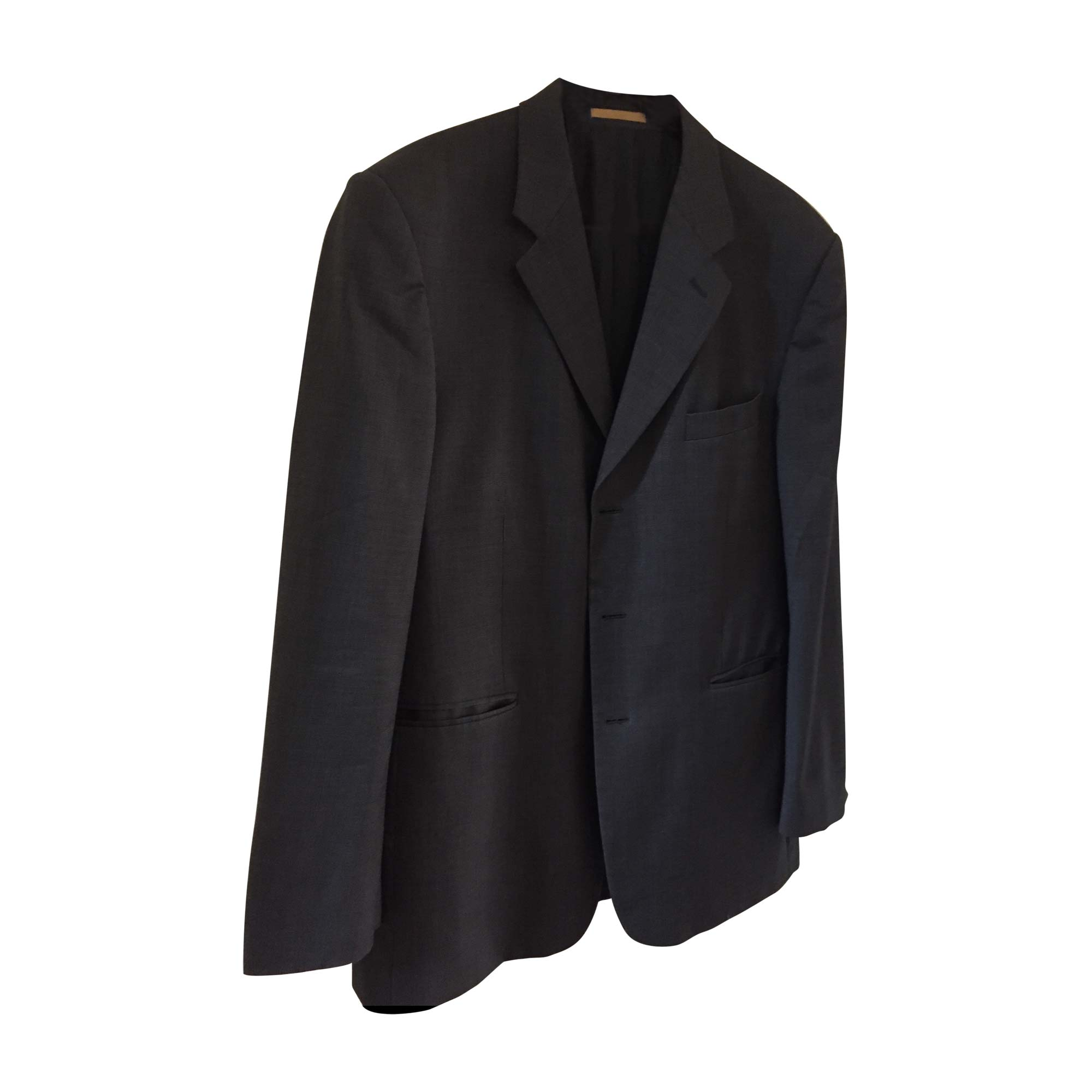 Veste de costume YVES SAINT LAURENT Gris, anthracite