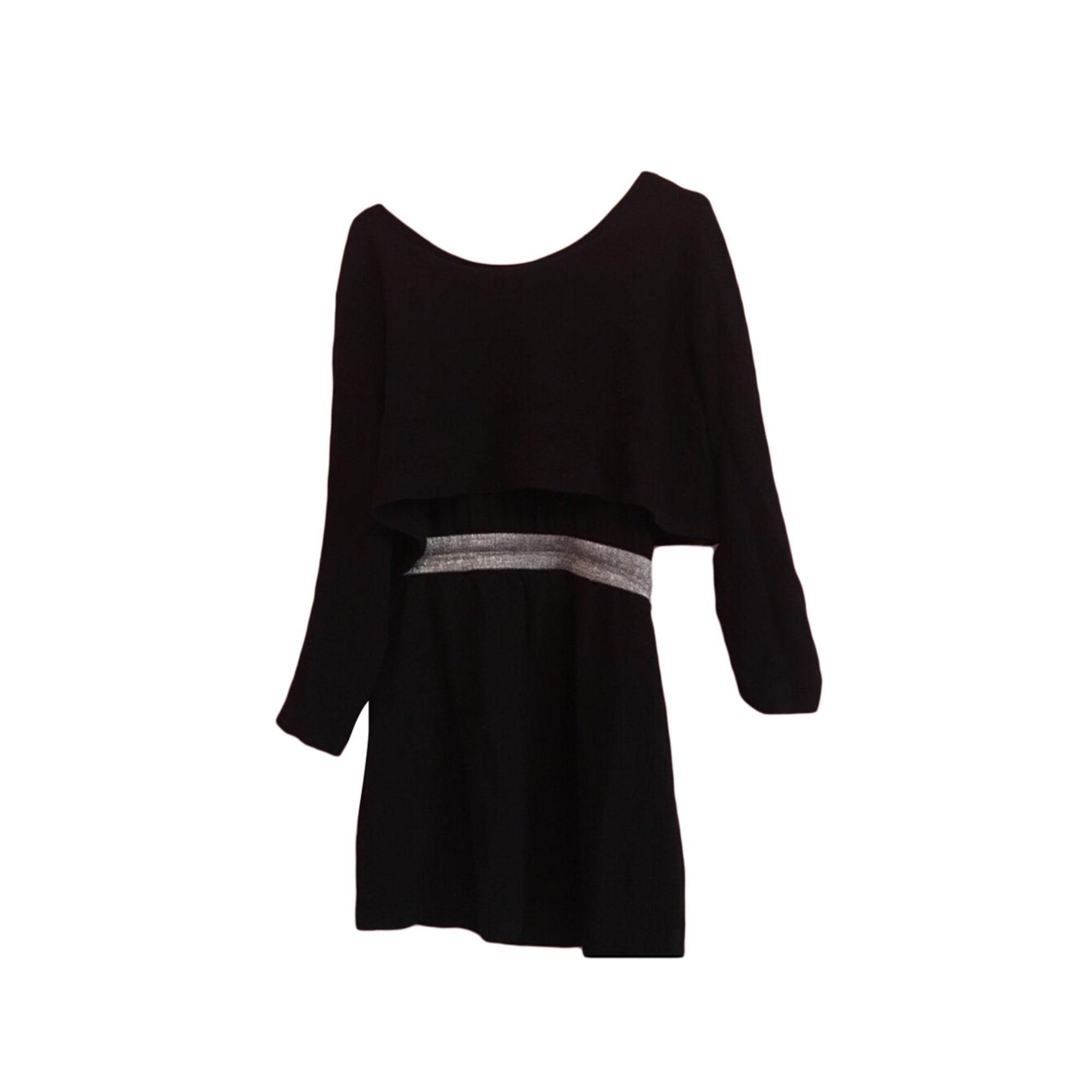 Claudie T3 Courte Robe 7701684 Pierlot l Noir 40 58w1w