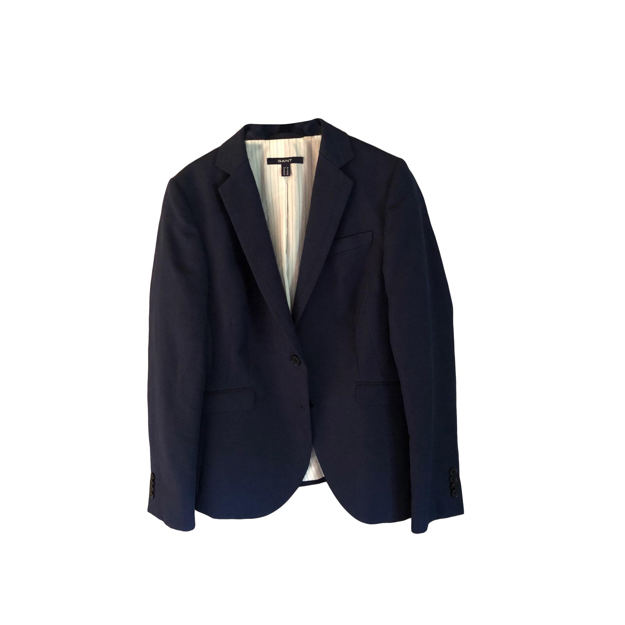 Gant Veste Blazer Tailleur l Bleu 40 7702086 T3 fAwwdxqE