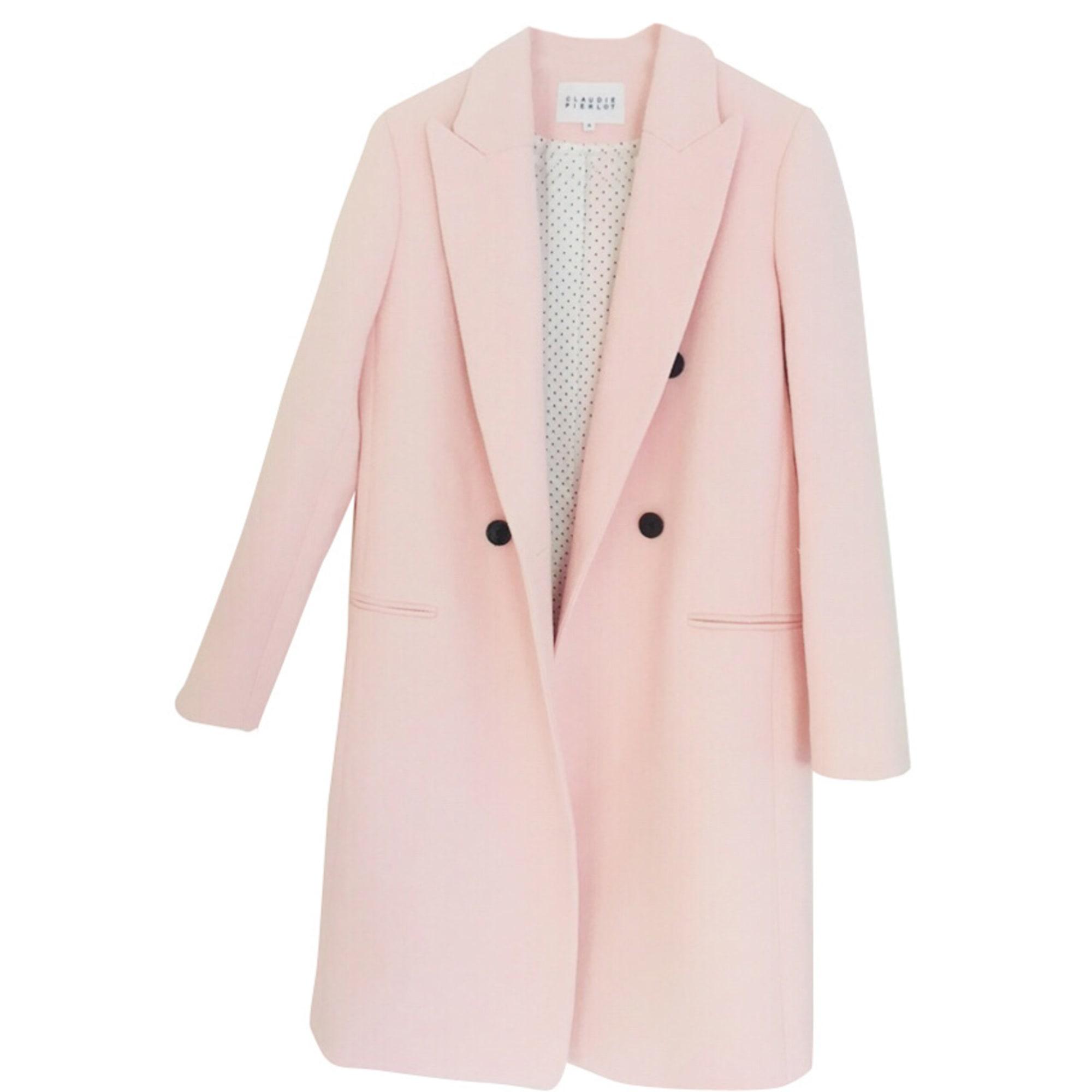 manteau rose claudie pierlot