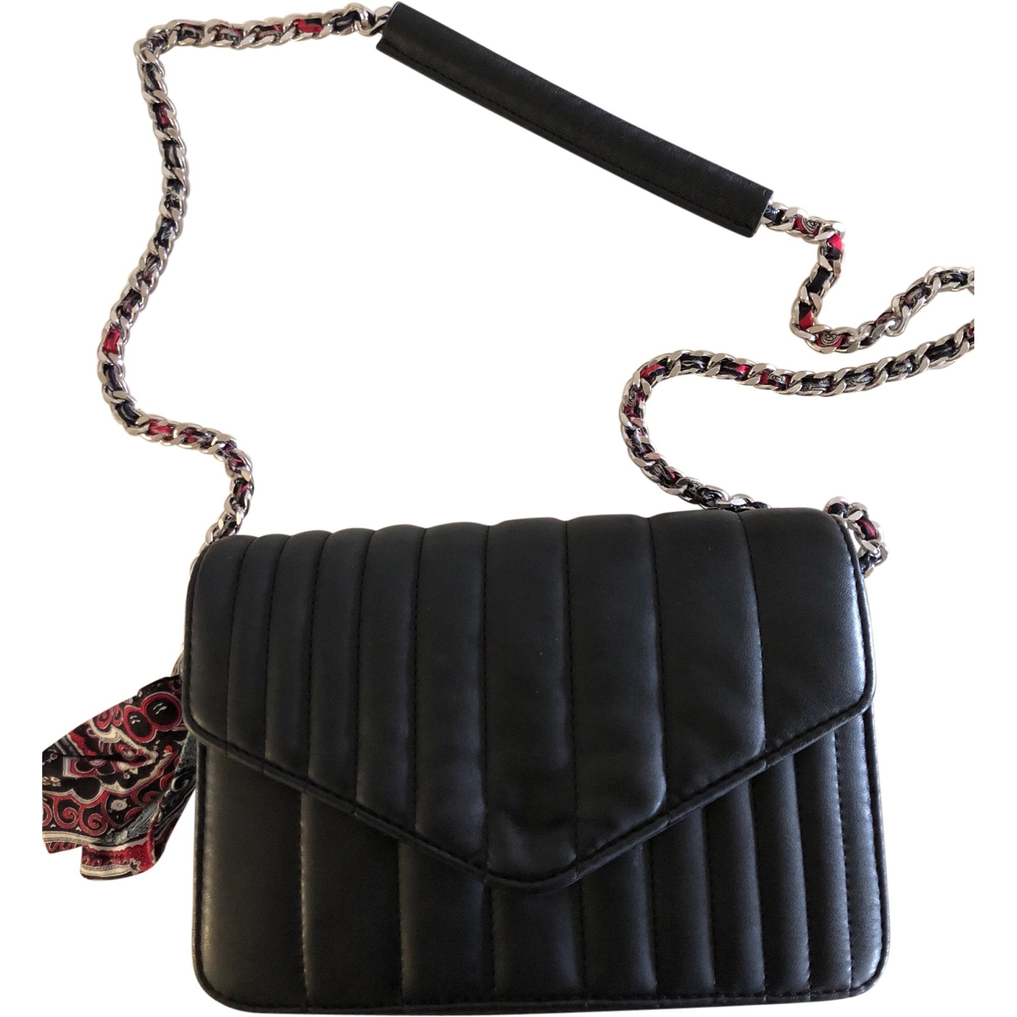 Sac En Zara 7705456 Noir Bandoulière Cuir CBoreWdx