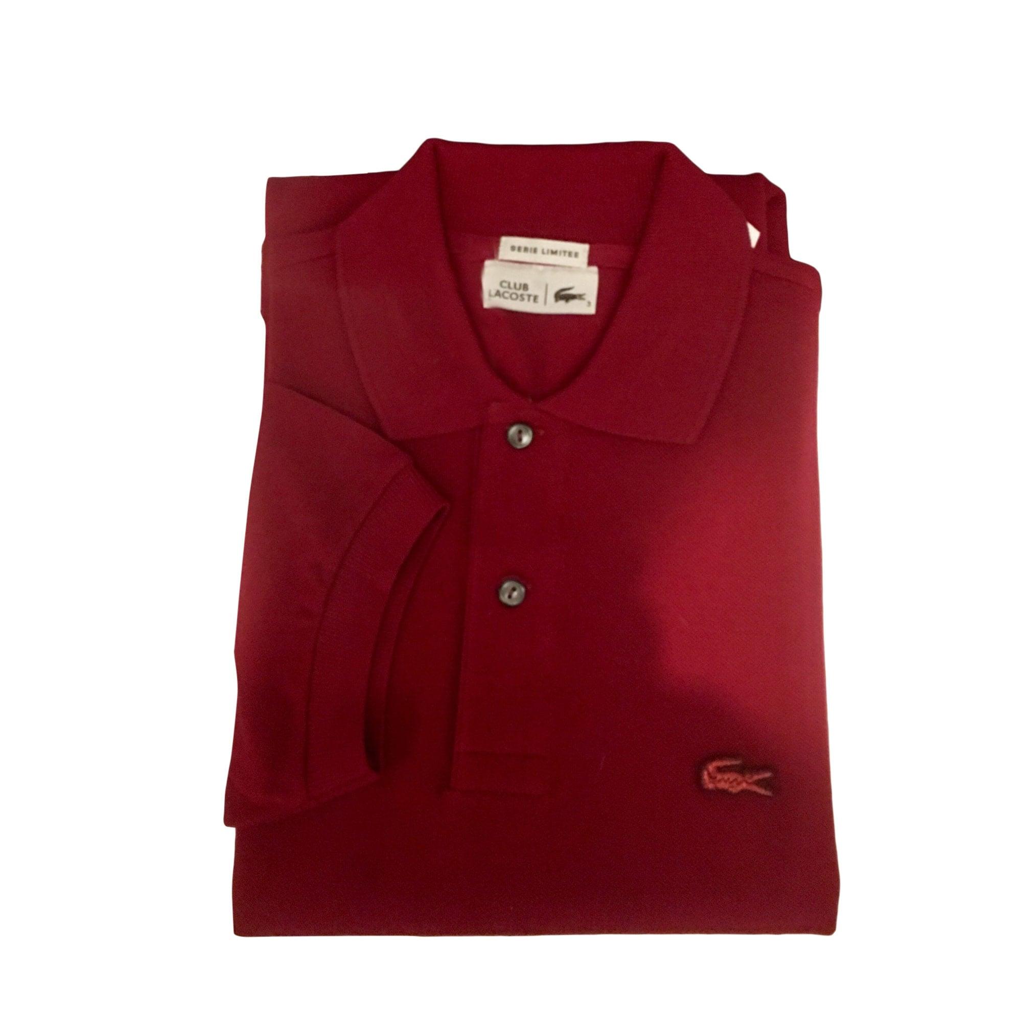 c1078f9050 Polo LACOSTE 2 (M) rouge vendu par V34545 - 7707100