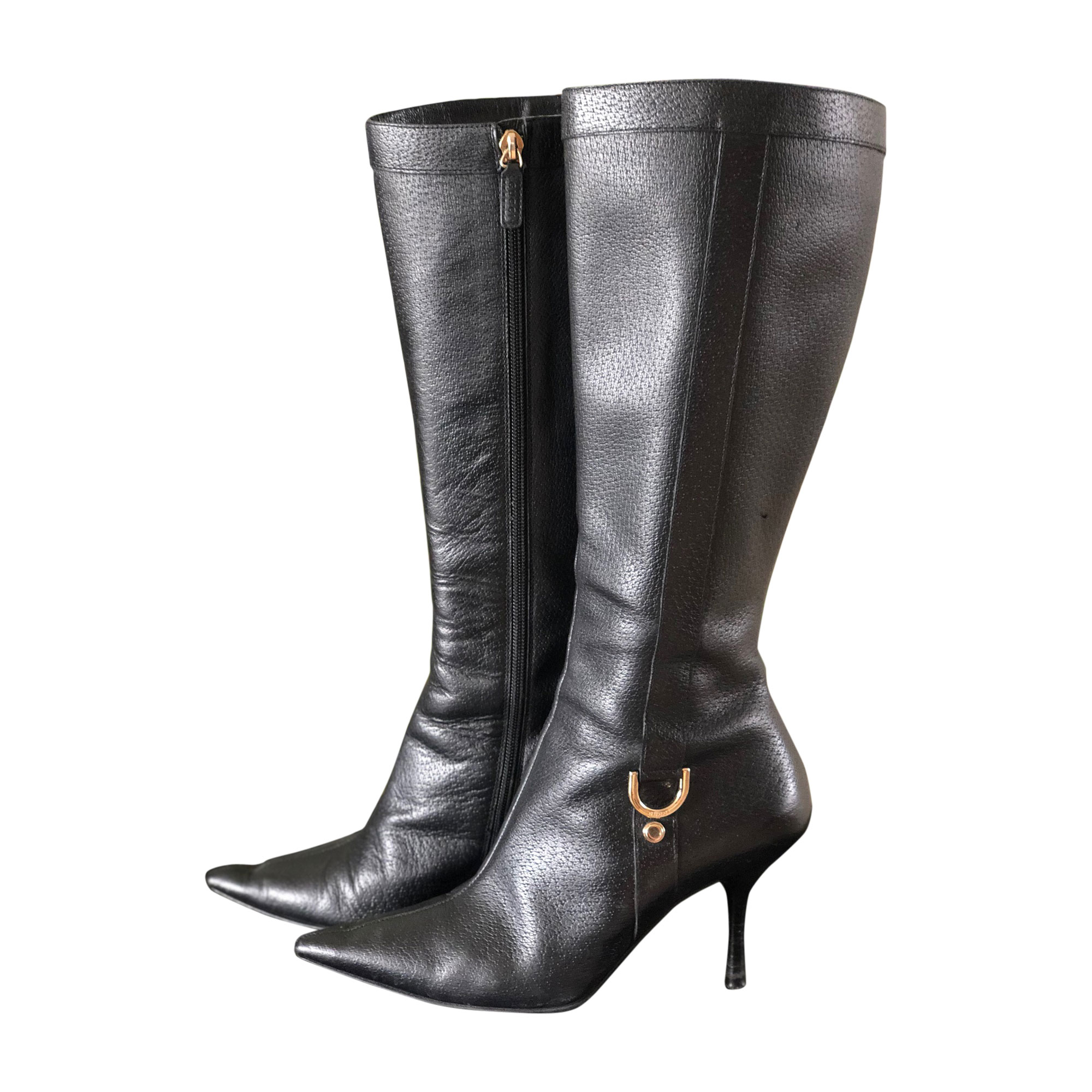 13ec0c30c9e High Heel Boots GUCCI 37 black - 7707938