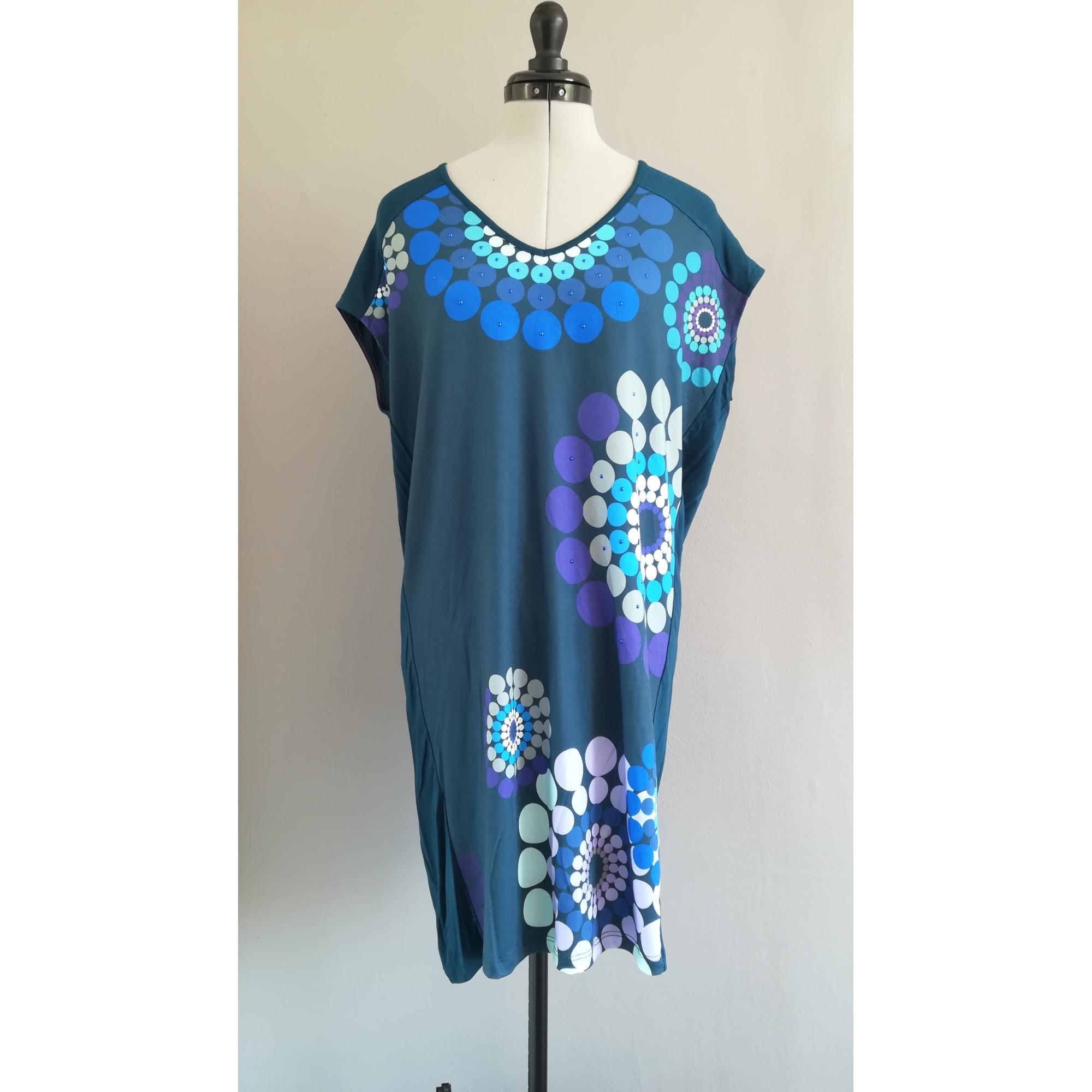 Tunique DESIGUAL Bleu, bleu marine, bleu turquoise