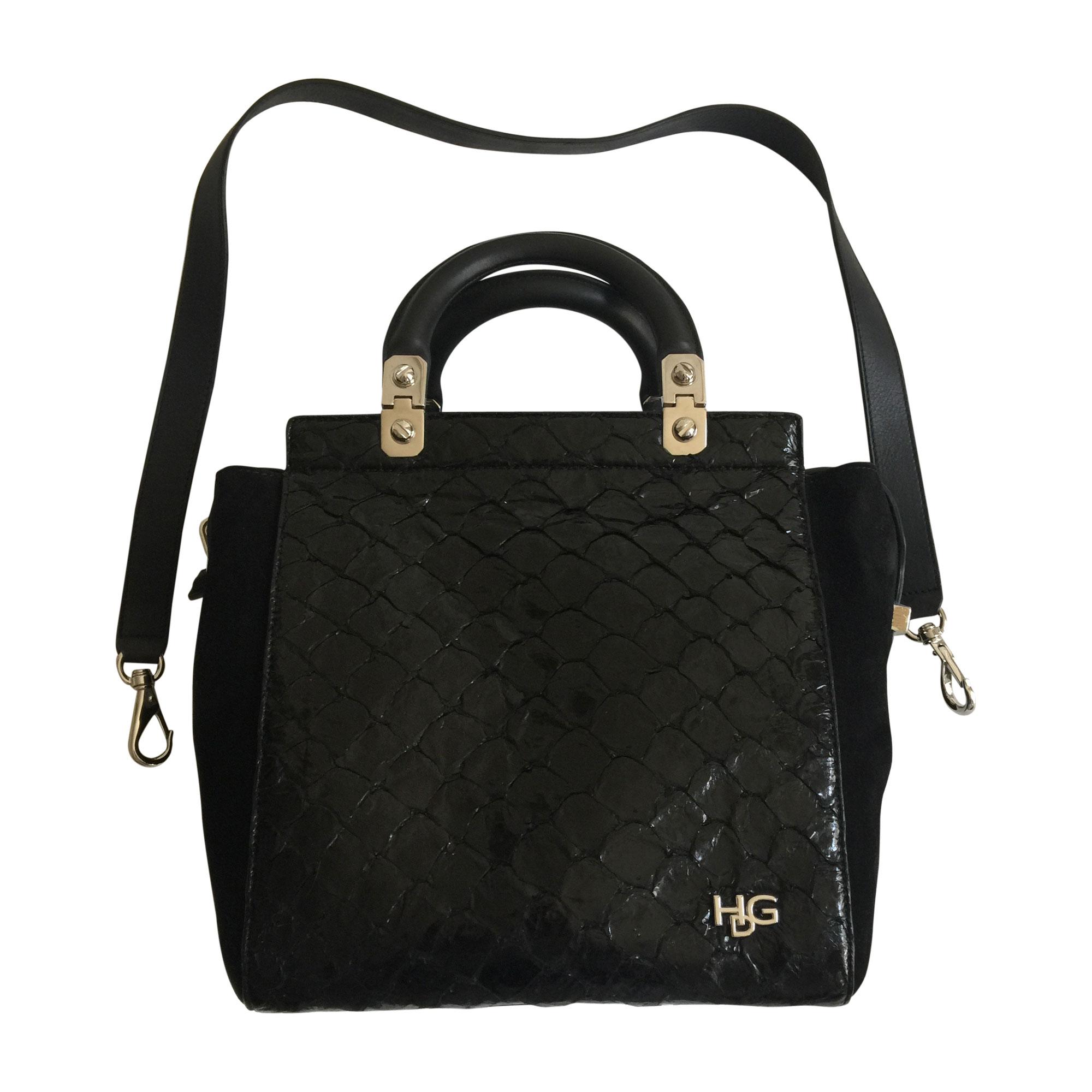 7711010 Givenchy Cuir Bandoulière Sac Noir En xWpgxFS