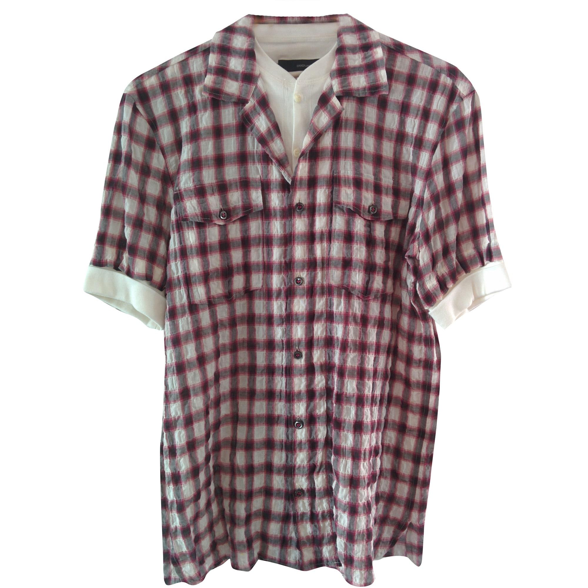Short-sleeved Shirt DSQUARED2 Multicolor