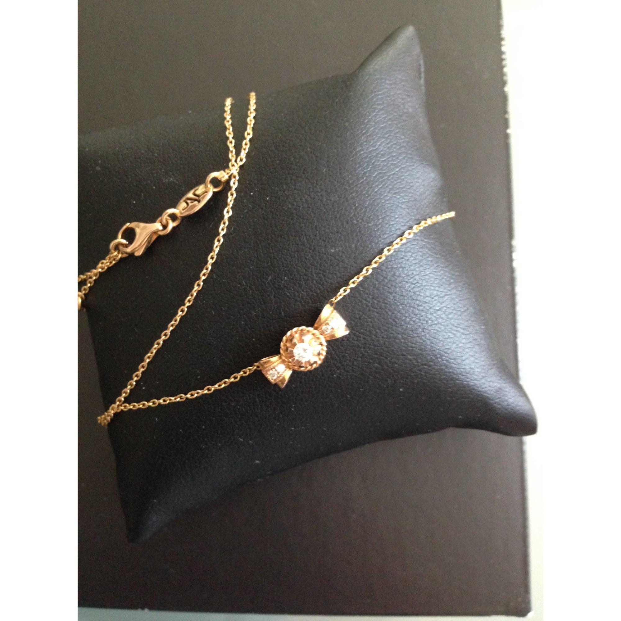 Pendentif, collier pendentif VANESSA TUGENDHAFT 18ct rose