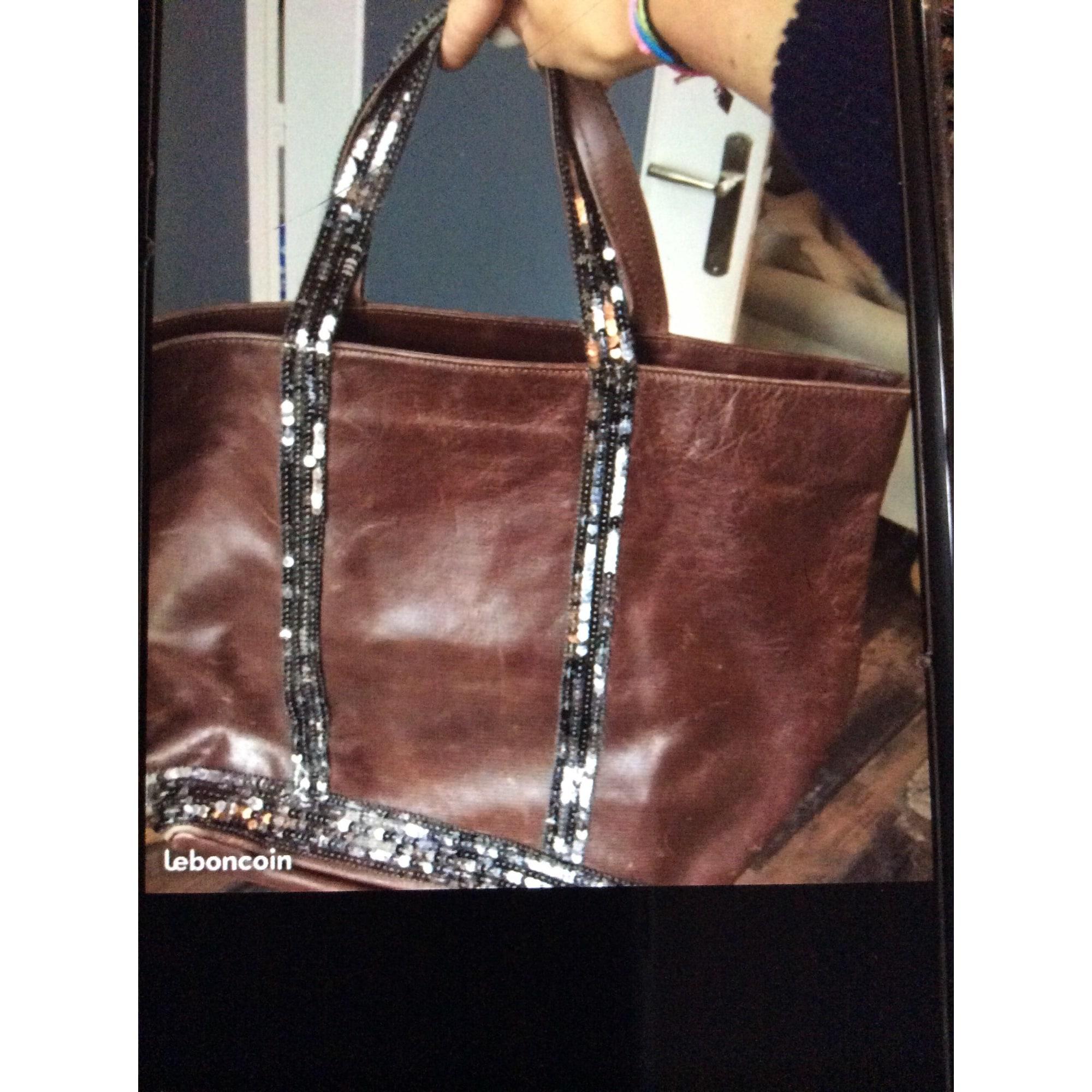 4131fc2c2a Sac à main en cuir VANESSA BRUNO marron vendu par Sandra 354531748 ...