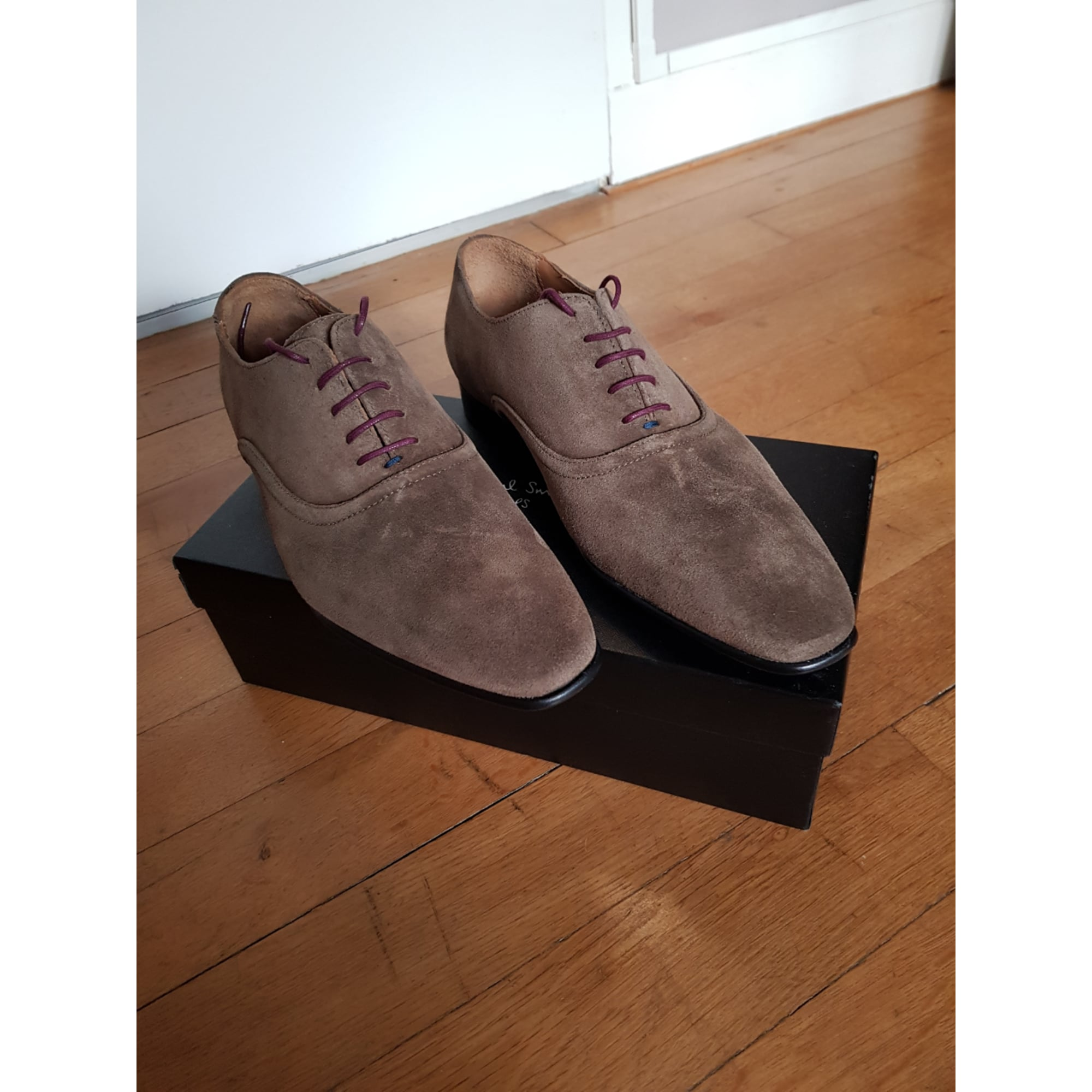 Lace Up Shoes PAUL SMITH Gray, charcoal
