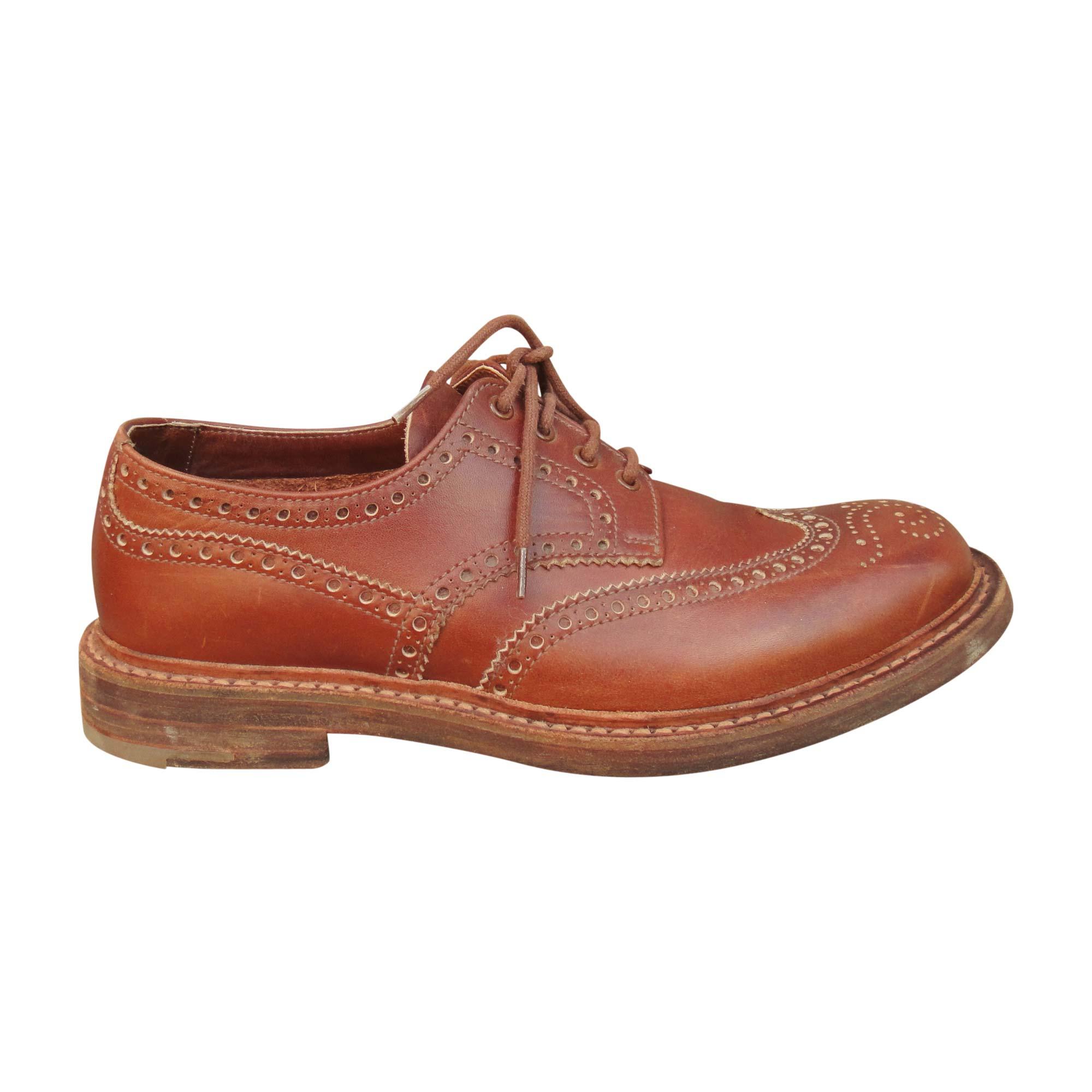 Chaussures à lacets PRADA 42 marron - 7719882 847b56684b56