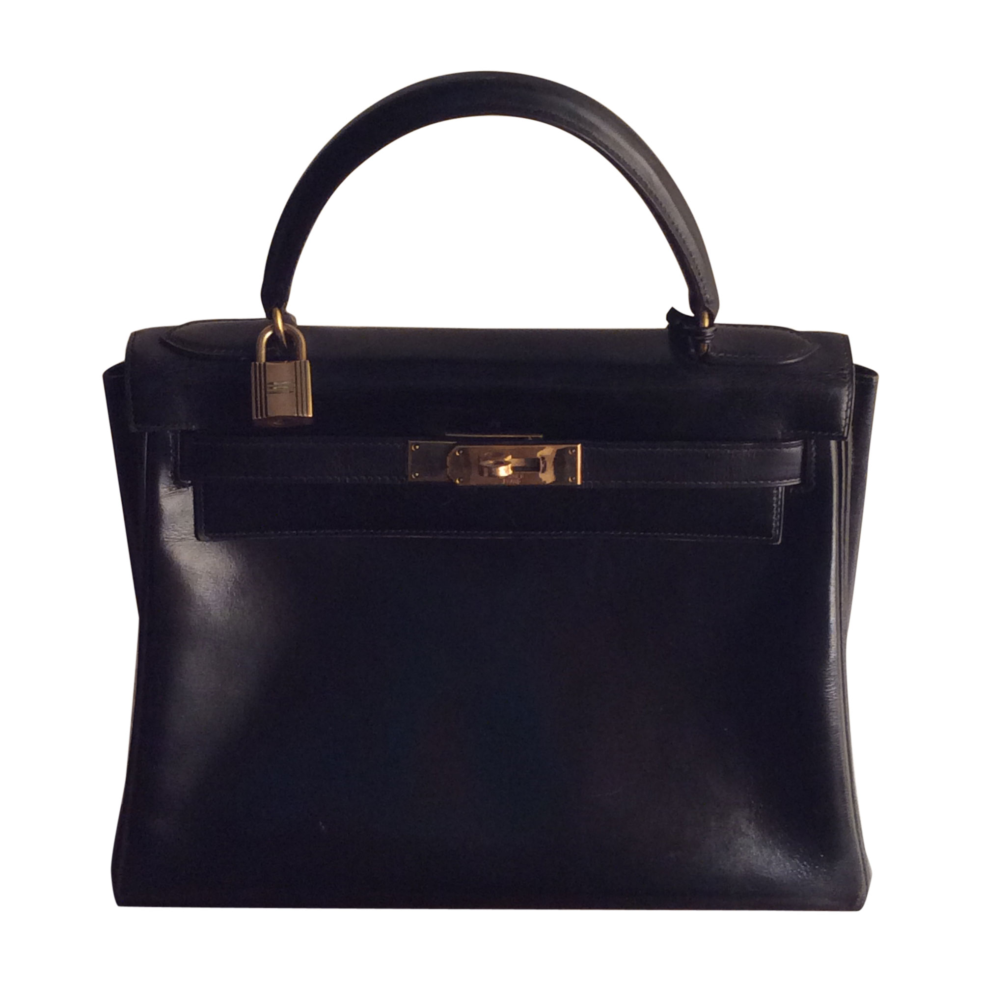 in stock official images special sales Sac à main en cuir HERMÈS