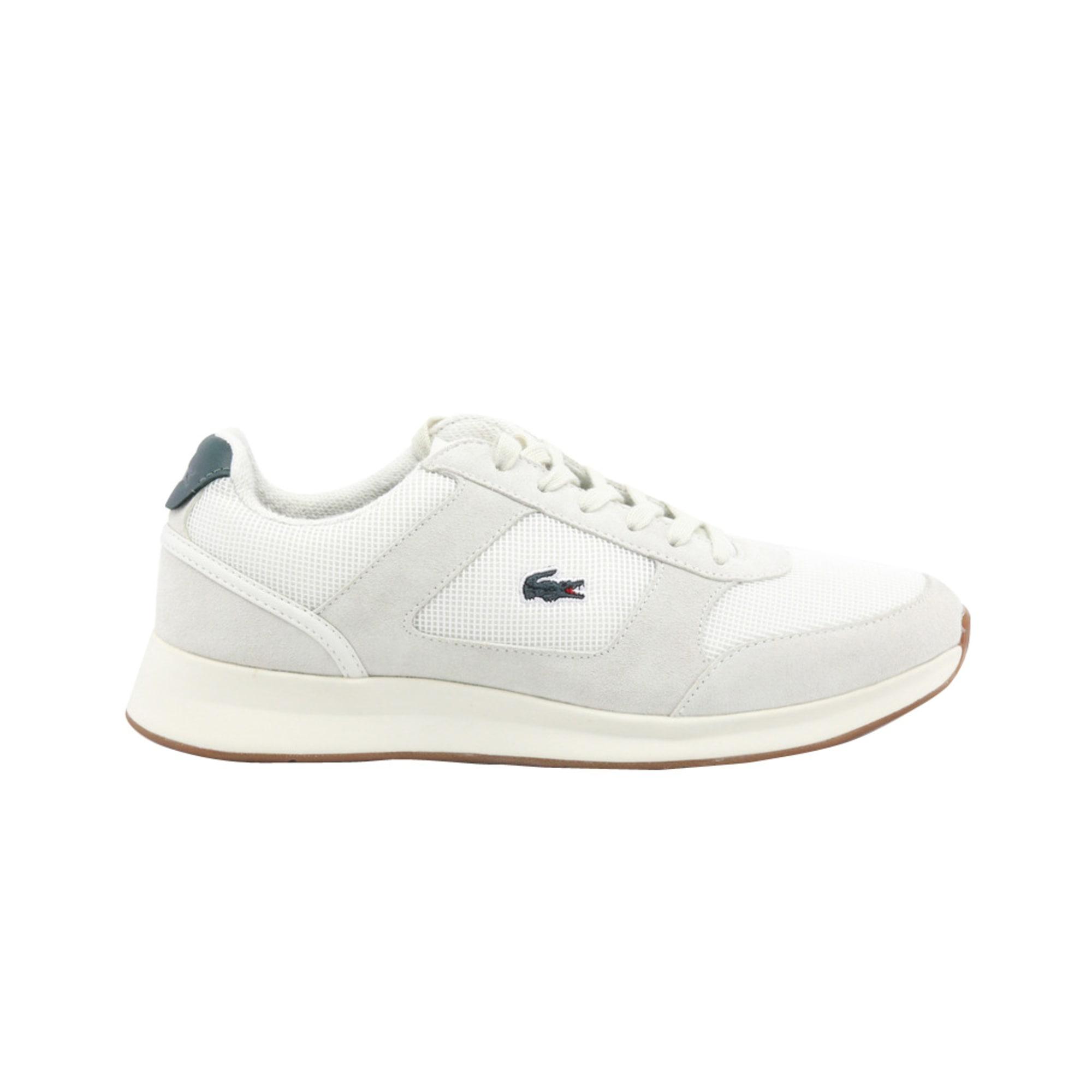 Lacoste Baskets Chaussures Homme Blanc blanc cassé écru