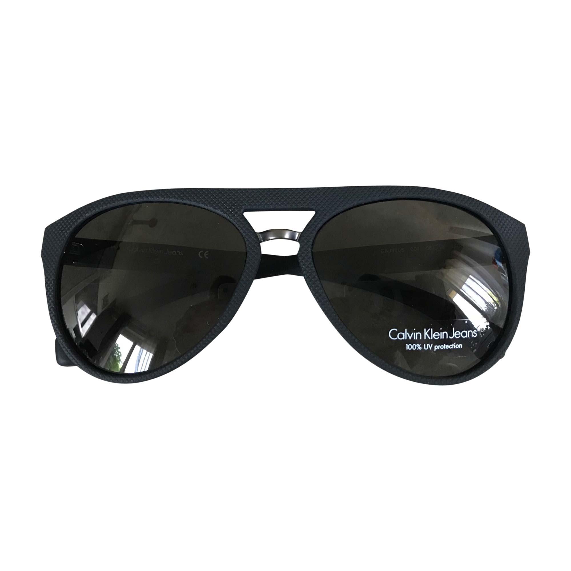 Lunettes de soleil CALVIN KLEIN noir vendu par Dressing de marque ... 6df98ef3722d